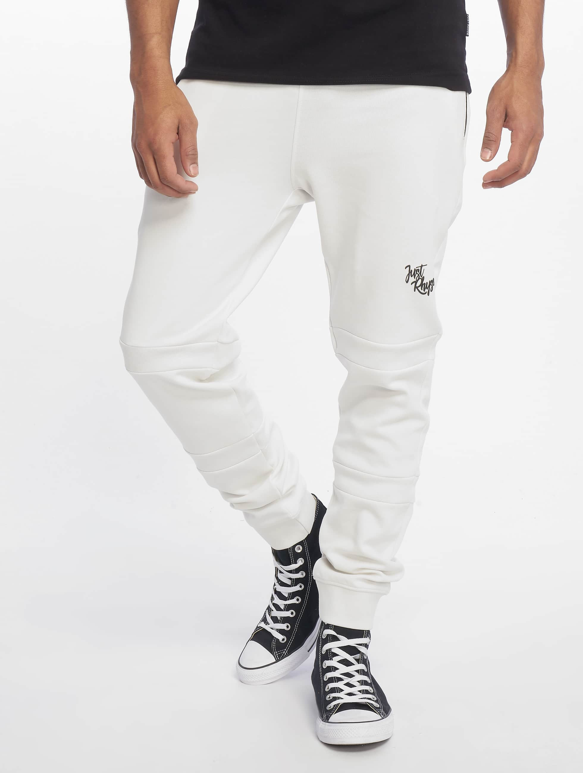 Just Rhyse / Sweat Pant Edgewater in white S