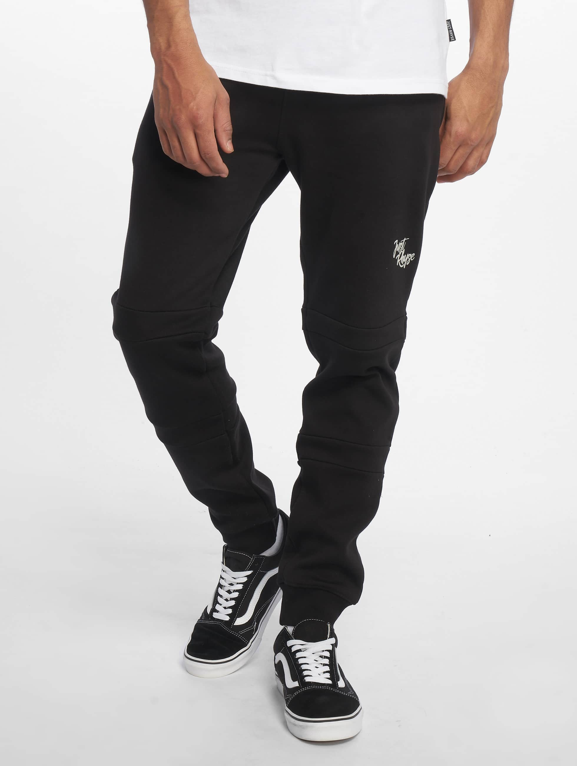 Just Rhyse / Sweat Pant Edgewater in black 3XL