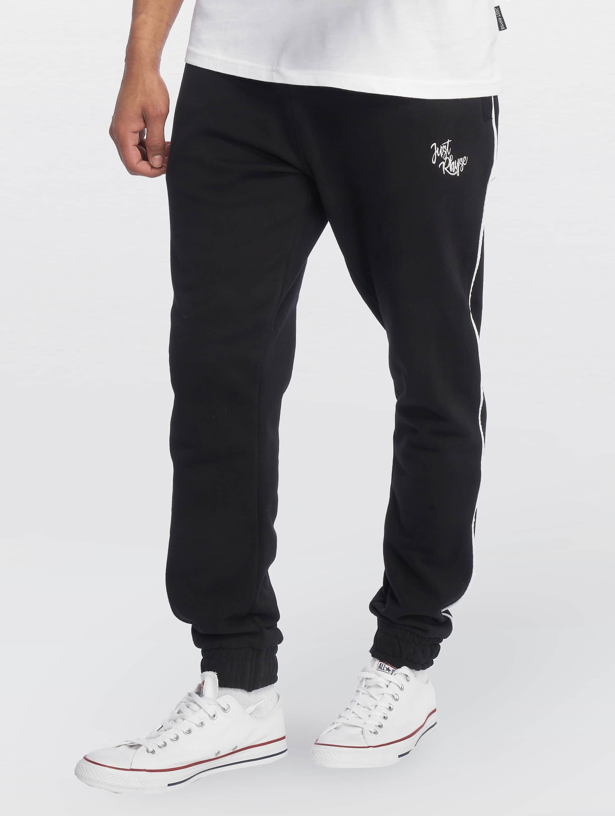 Just Rhyse / Sweat Pant Lake City in black 2XL