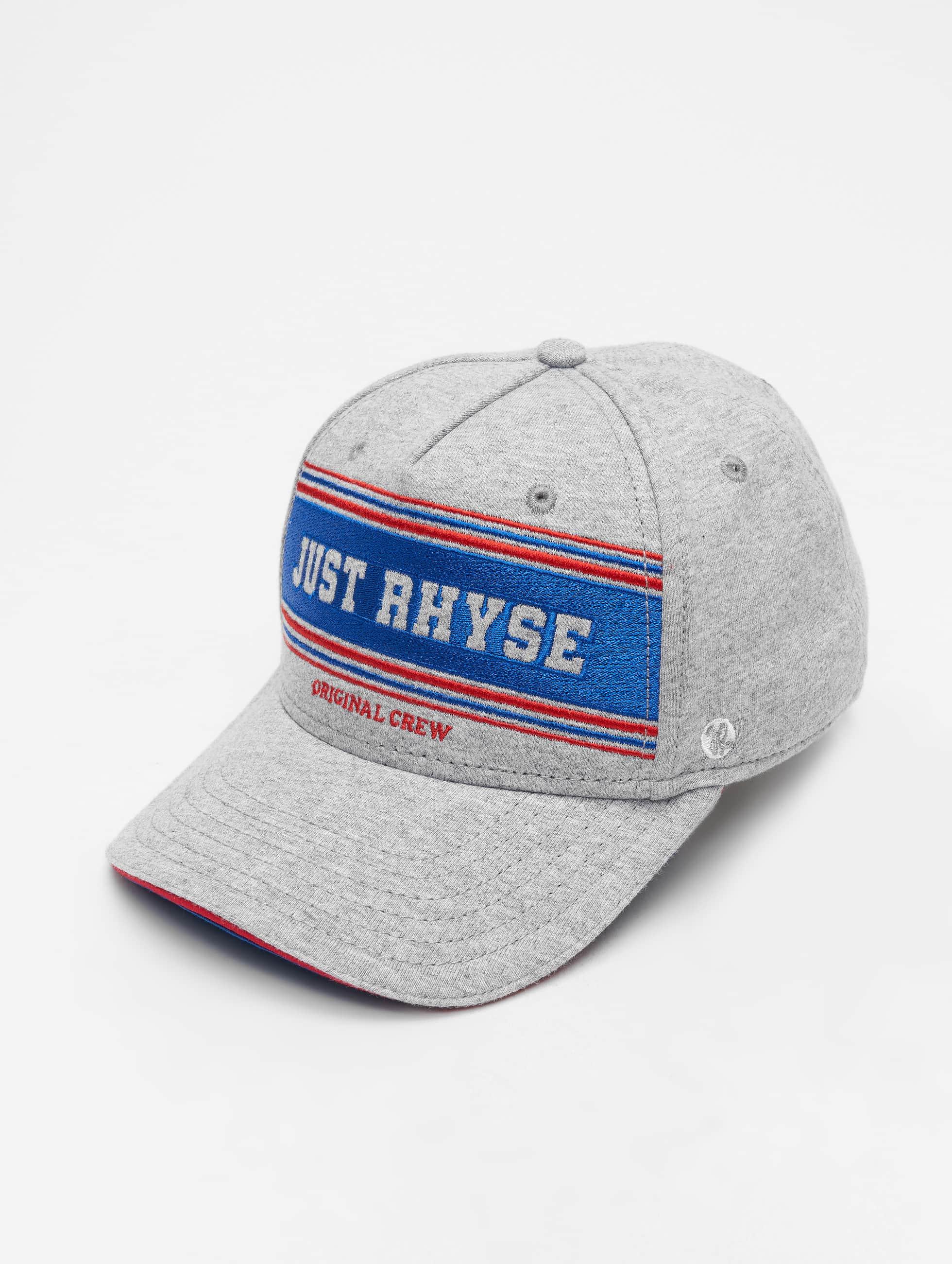 Just Rhyse / Snapback Cap Key Largo in grey Adjustable