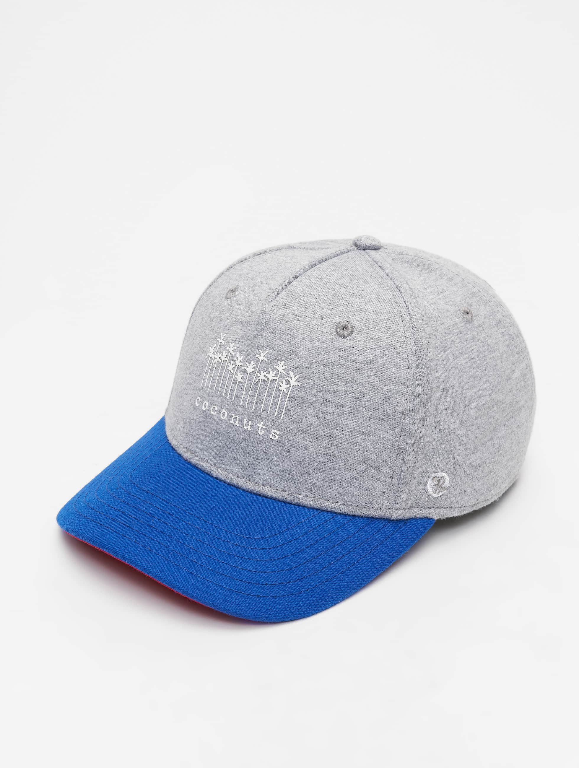 Just Rhyse / 5 Panel Caps Brooksville in grey Adjustable