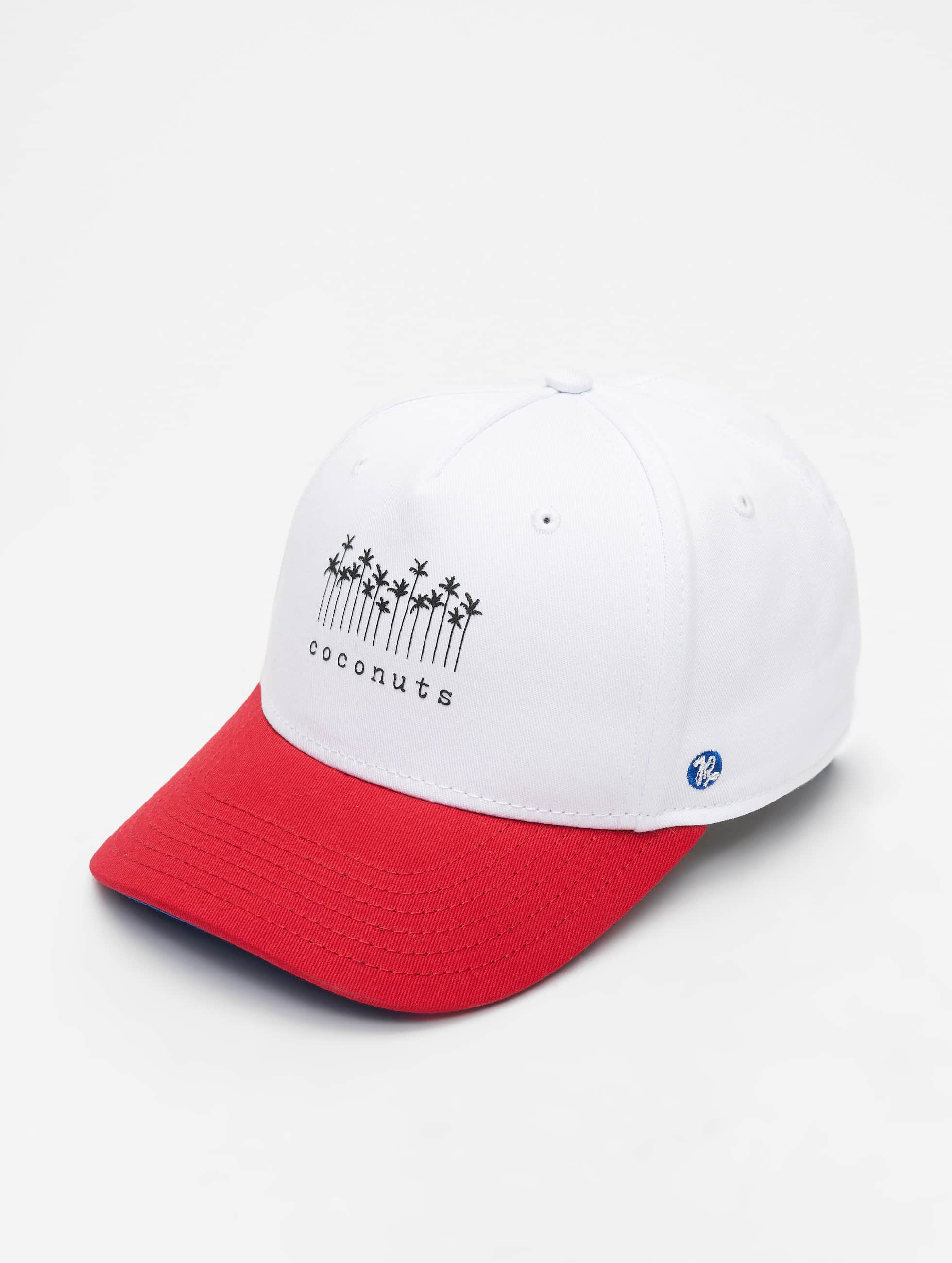 Just Rhyse / 5 Panel Caps Brooksville in white Adjustable