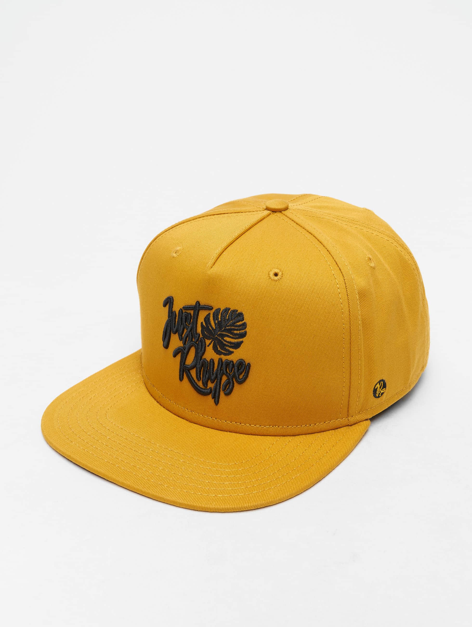 Just Rhyse / 5 Panel Caps Pahokee in yellow Adjustable