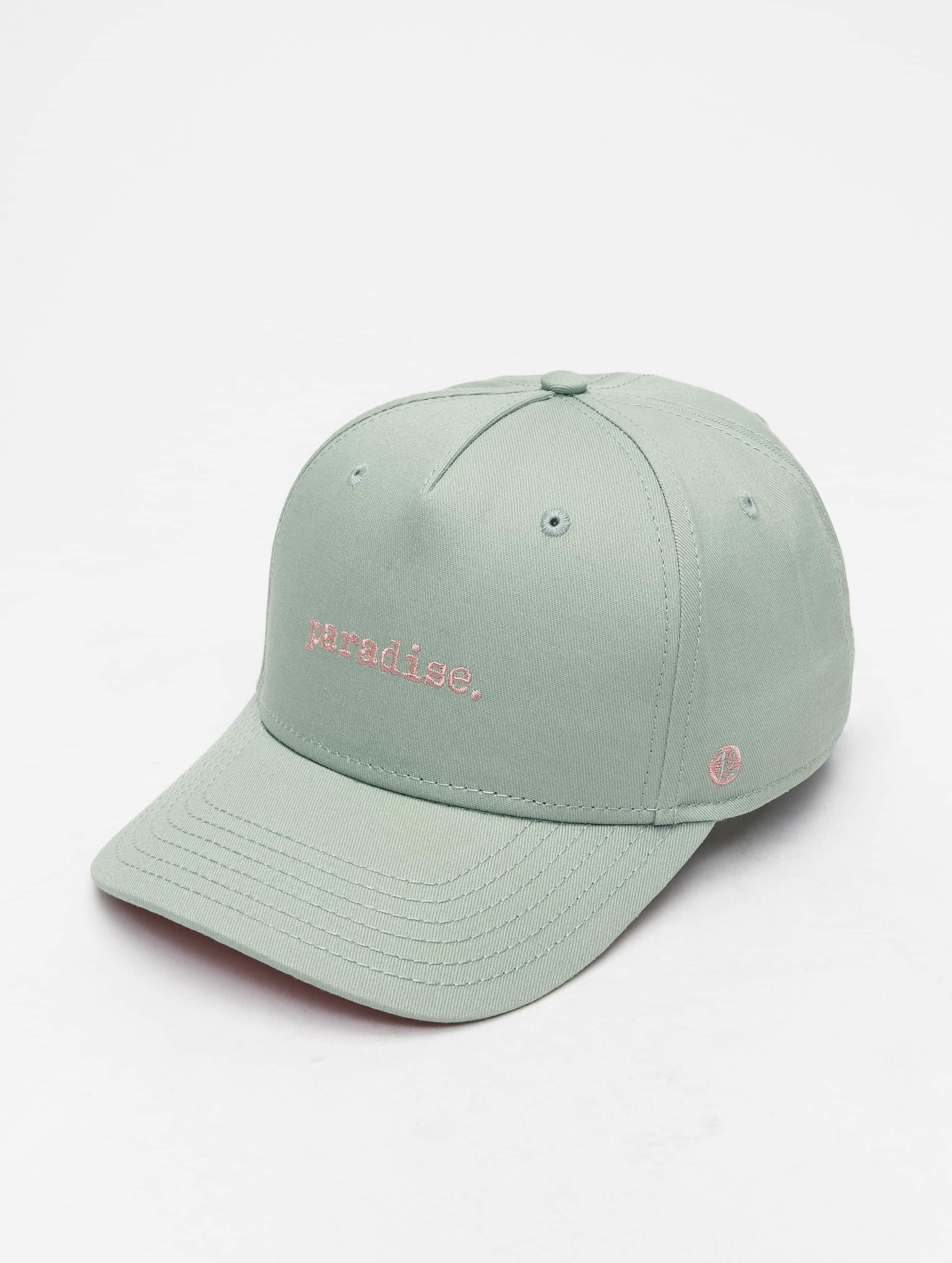 Just Rhyse / 5 Panel Caps Spring Hill in green Adjustable