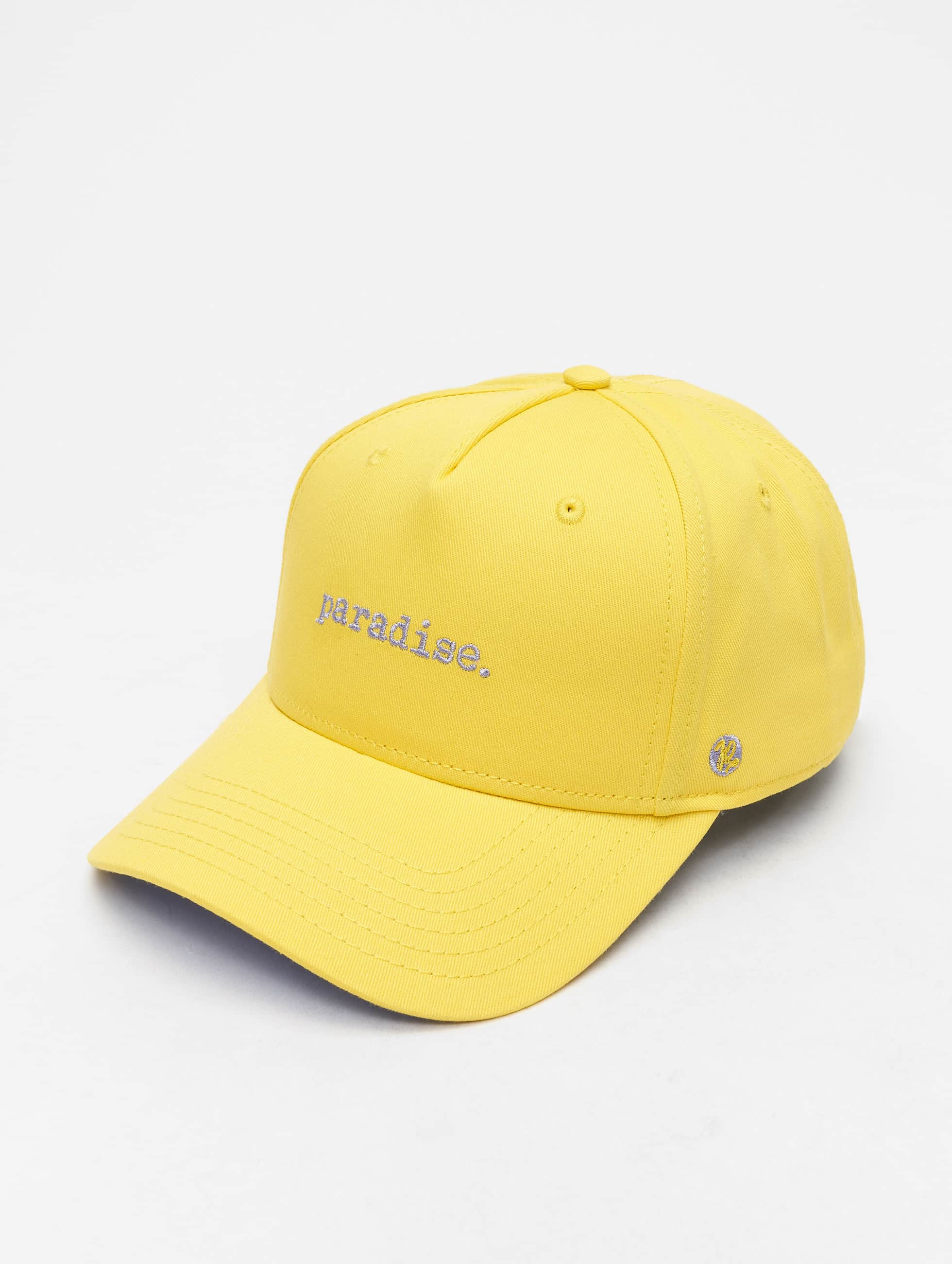 Just Rhyse / 5 Panel Caps Spring Hill in yellow Adjustable