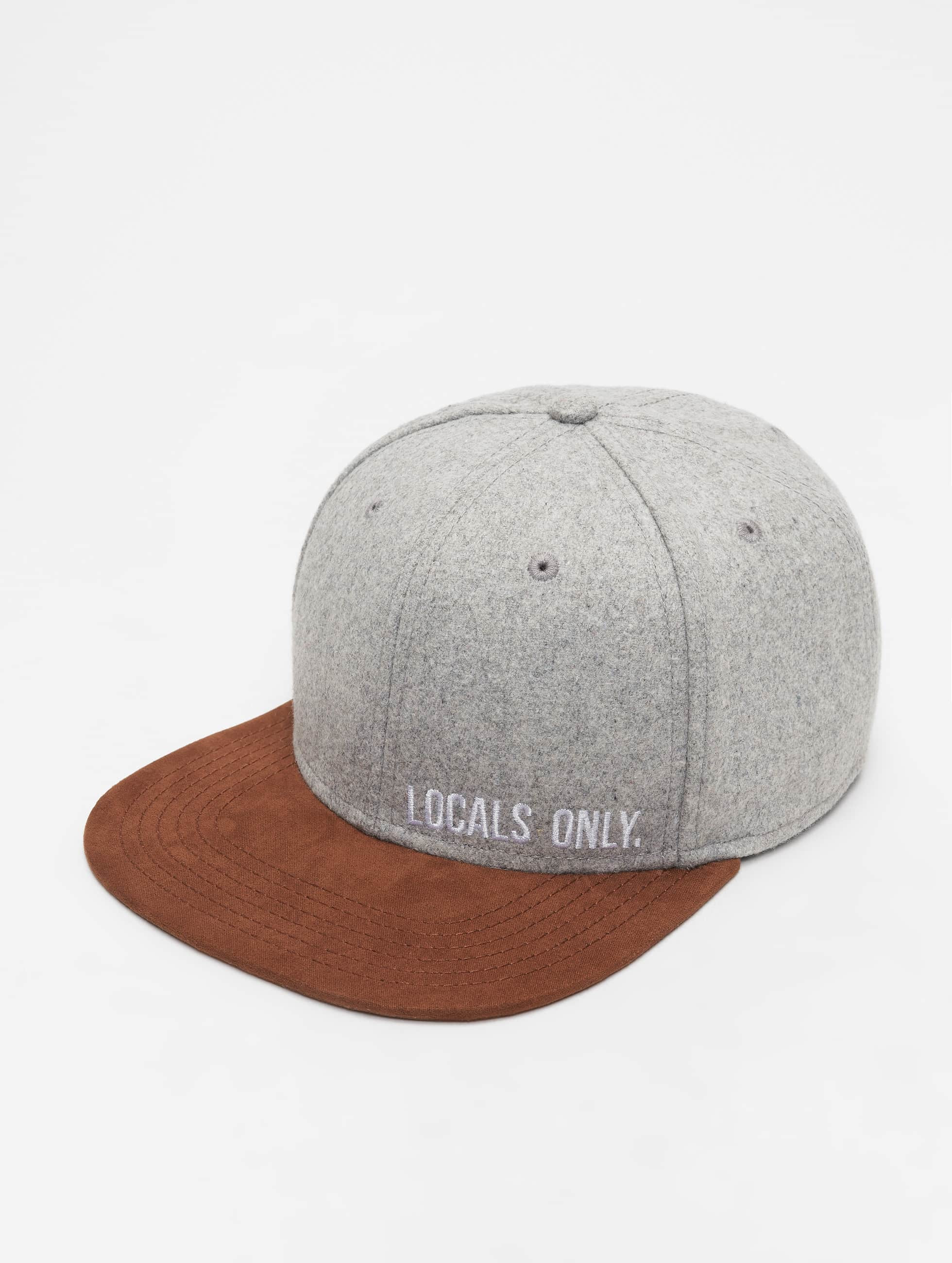 Just Rhyse / Snapback Cap Gainesville in grey Adjustable