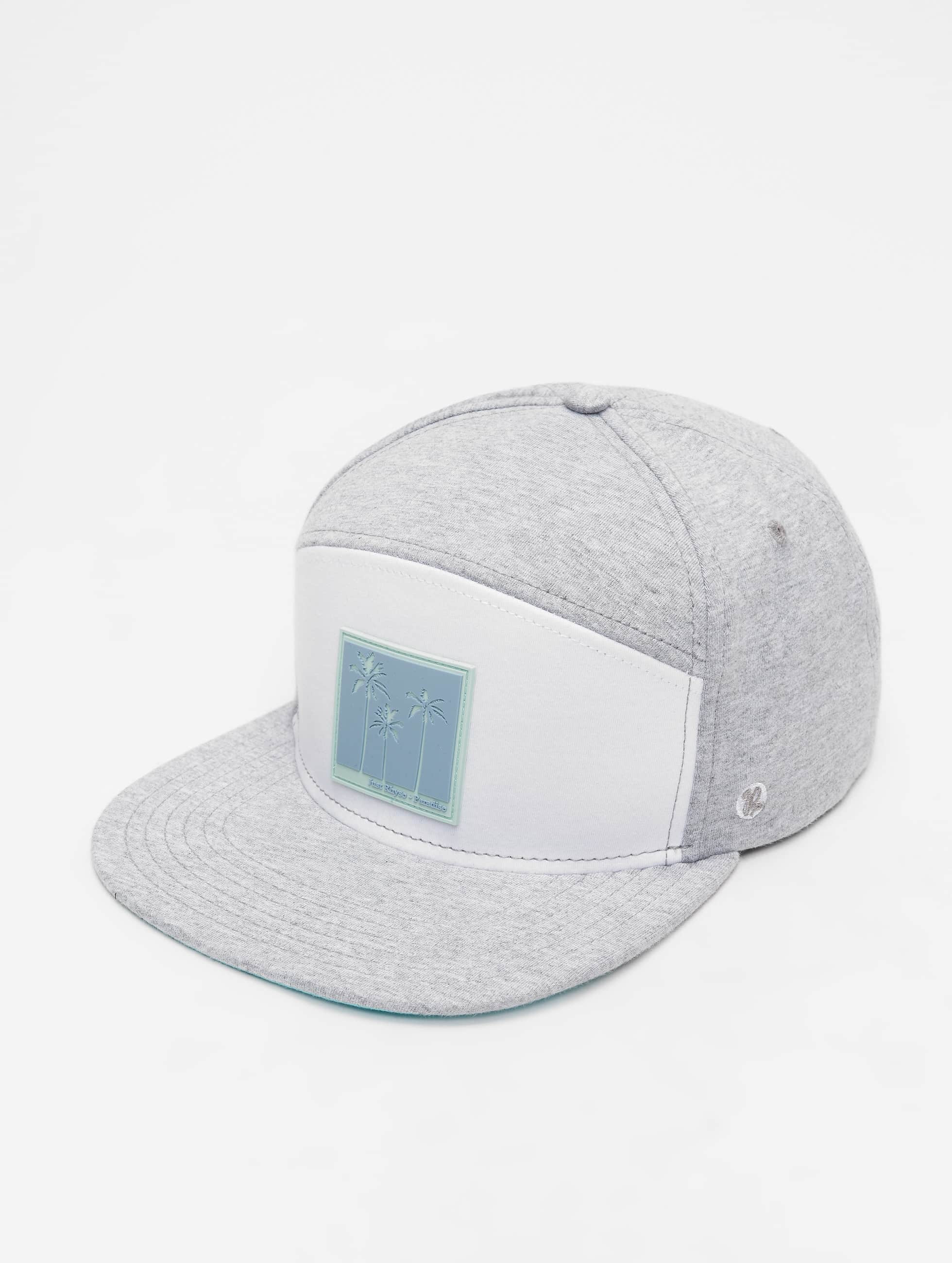 Just Rhyse / Fitted Cap Fort Pierce 6 in grey Adjustable
