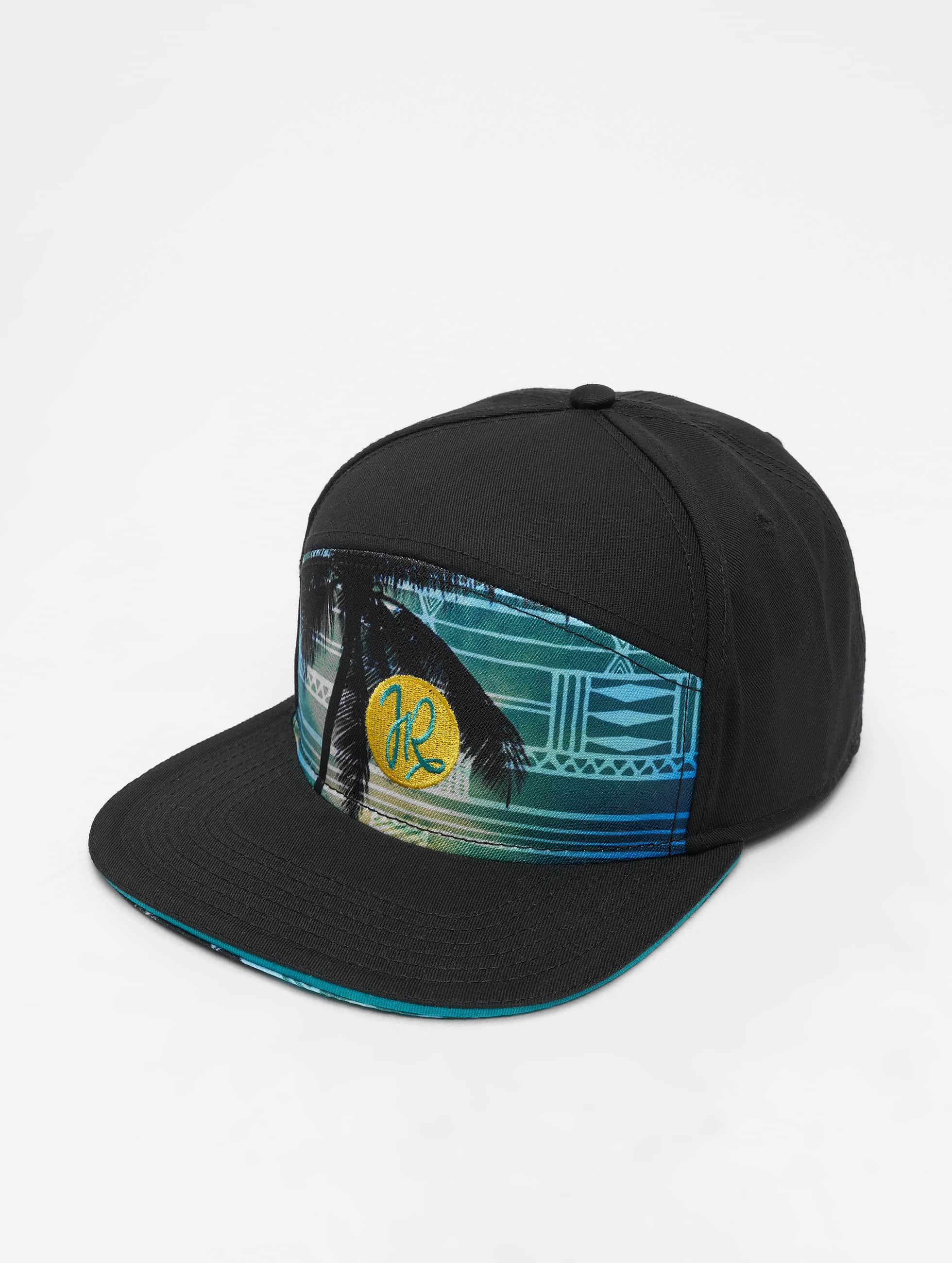 Just Rhyse / Fitted Cap Miami in black Adjustable