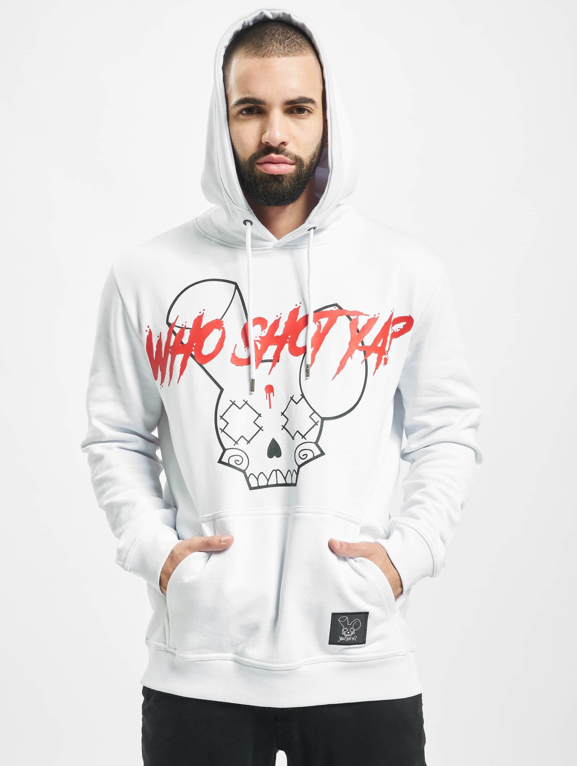 Who Shot Ya? / Hoodie Originals in white XL