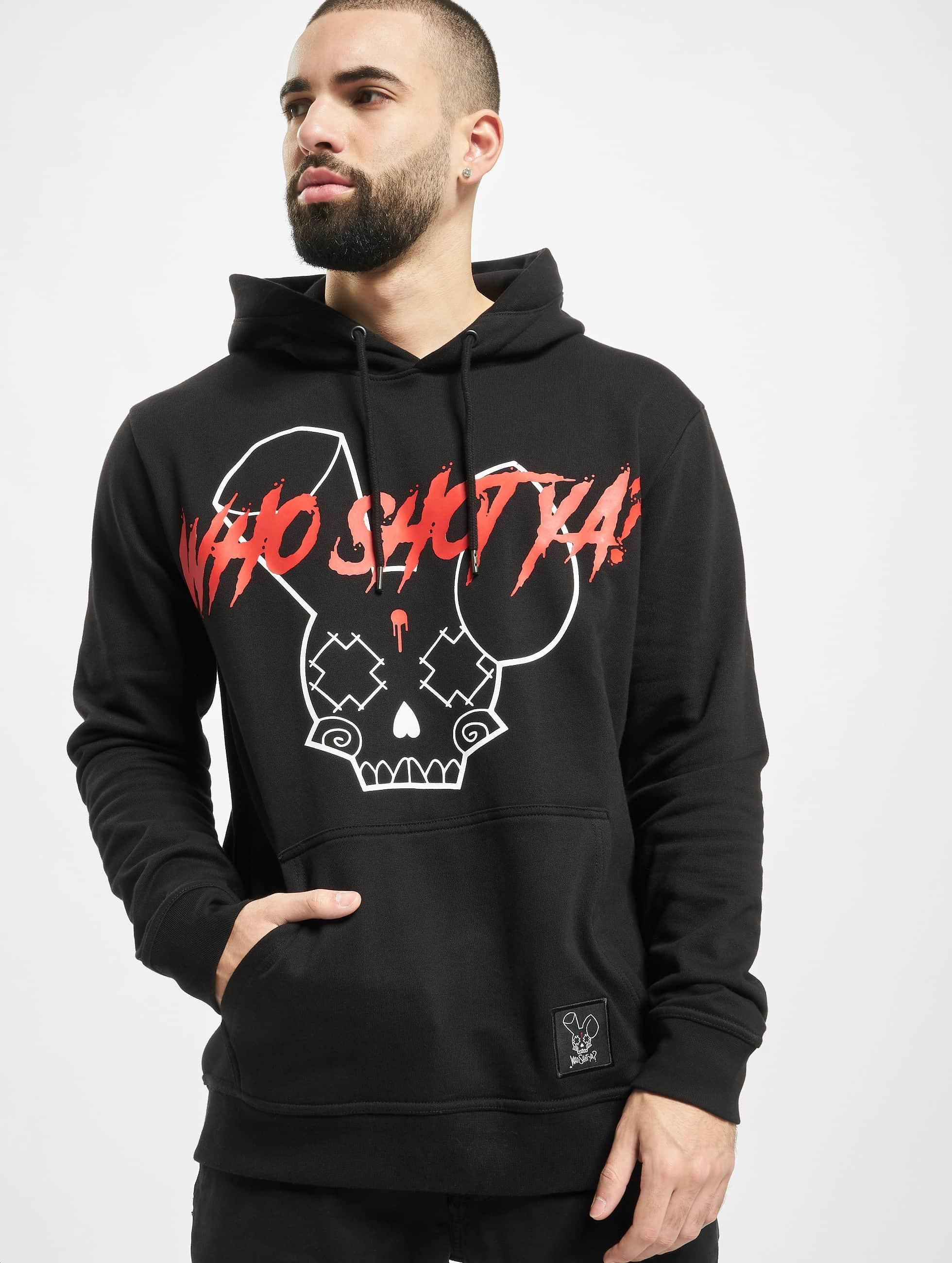 Who Shot Ya? / Hoodie Originals in black S