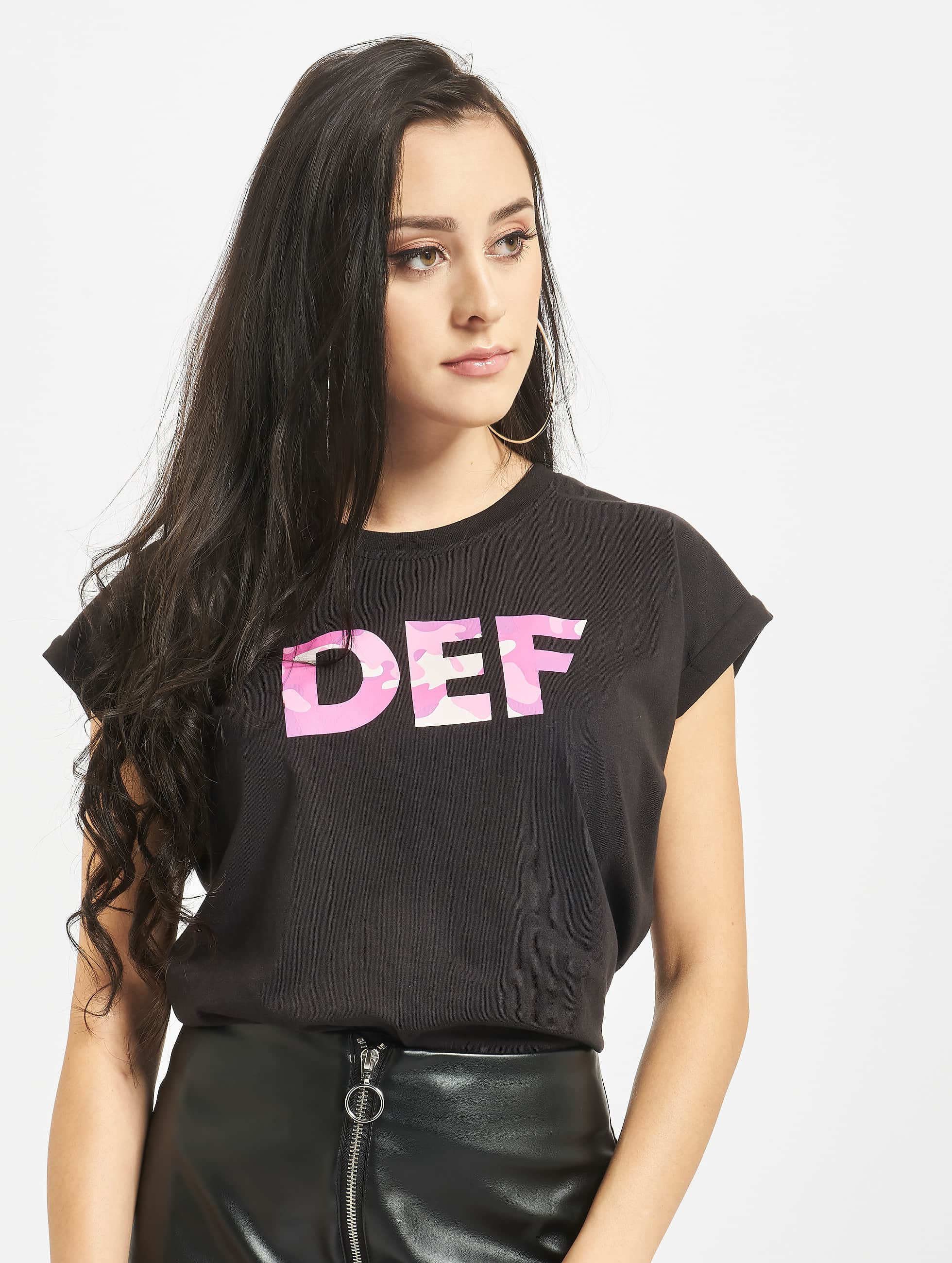 DEF / T-Shirt Signed in black XL