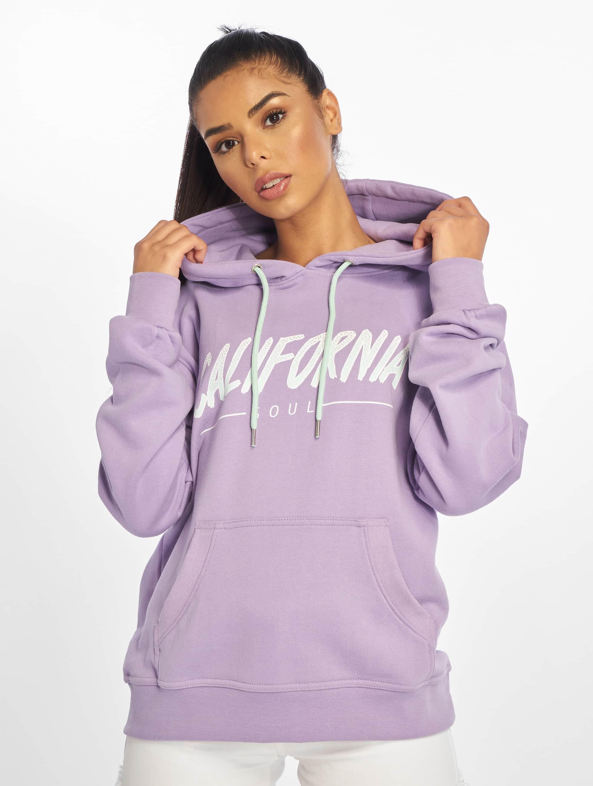 Just Rhyse / Hoodie Santa Monica in purple XS