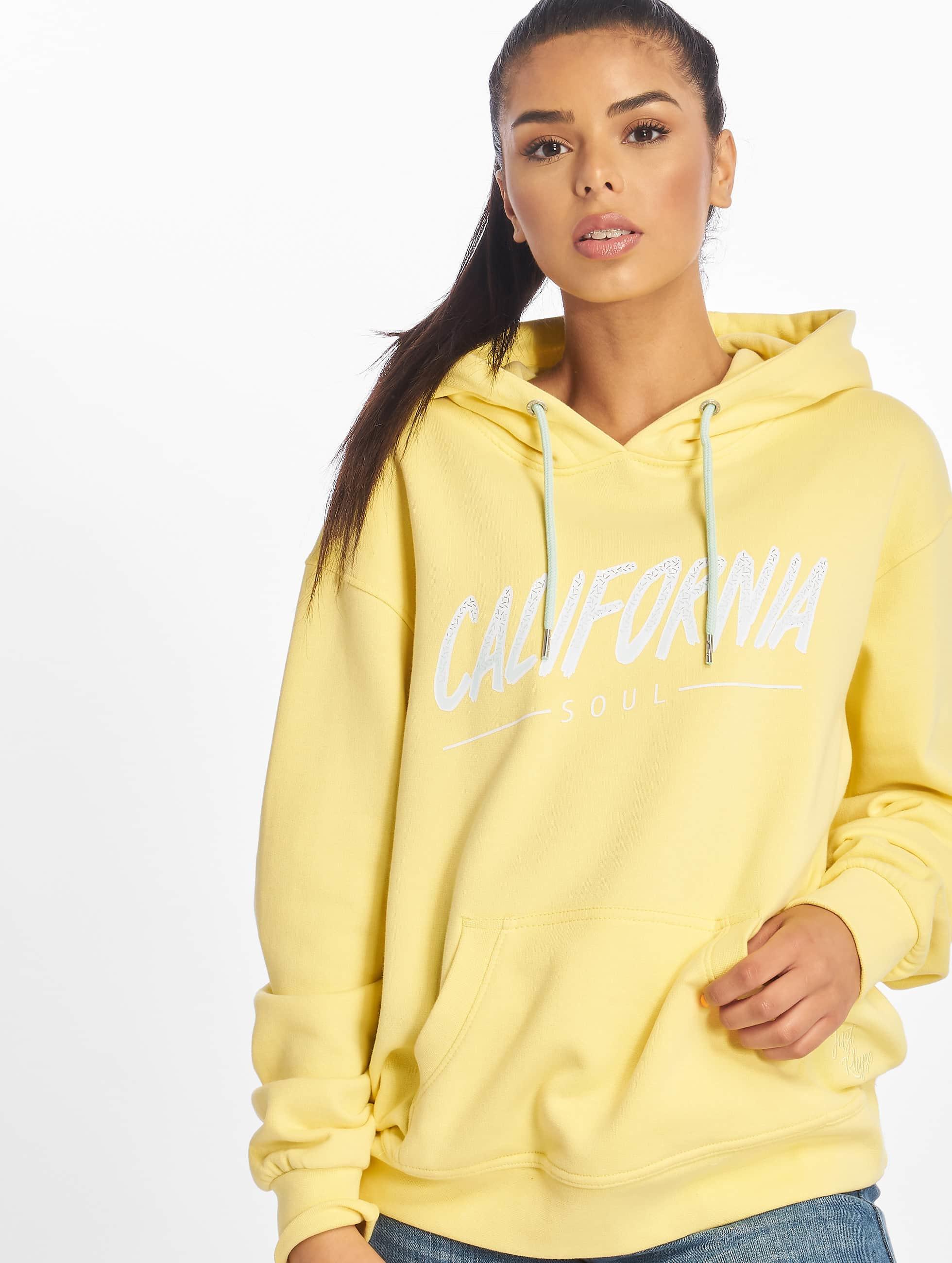 Just Rhyse / Hoodie Santa Monica in yellow XS