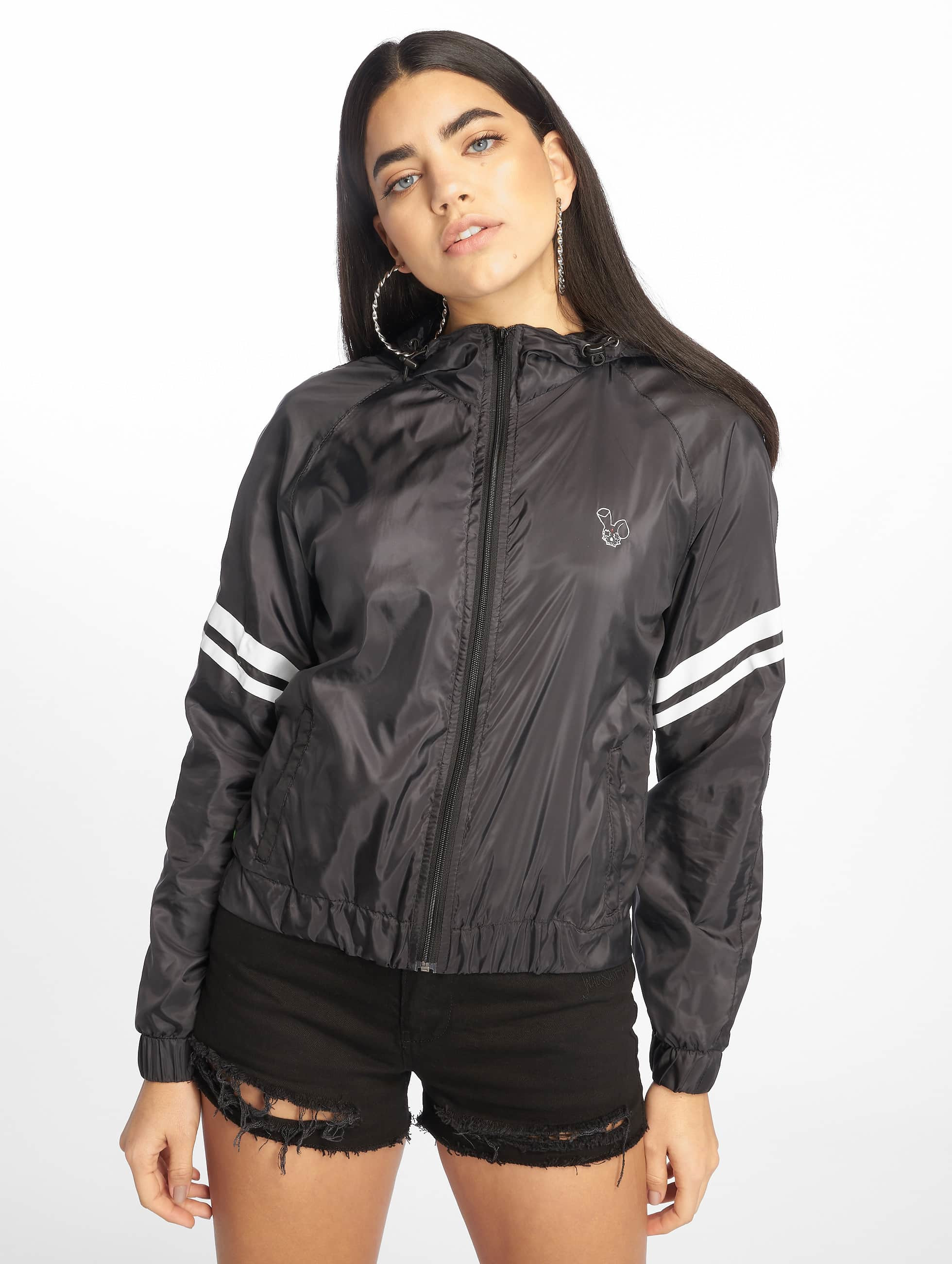 Who Shot Ya? / Lightweight Jacket Star in black XS