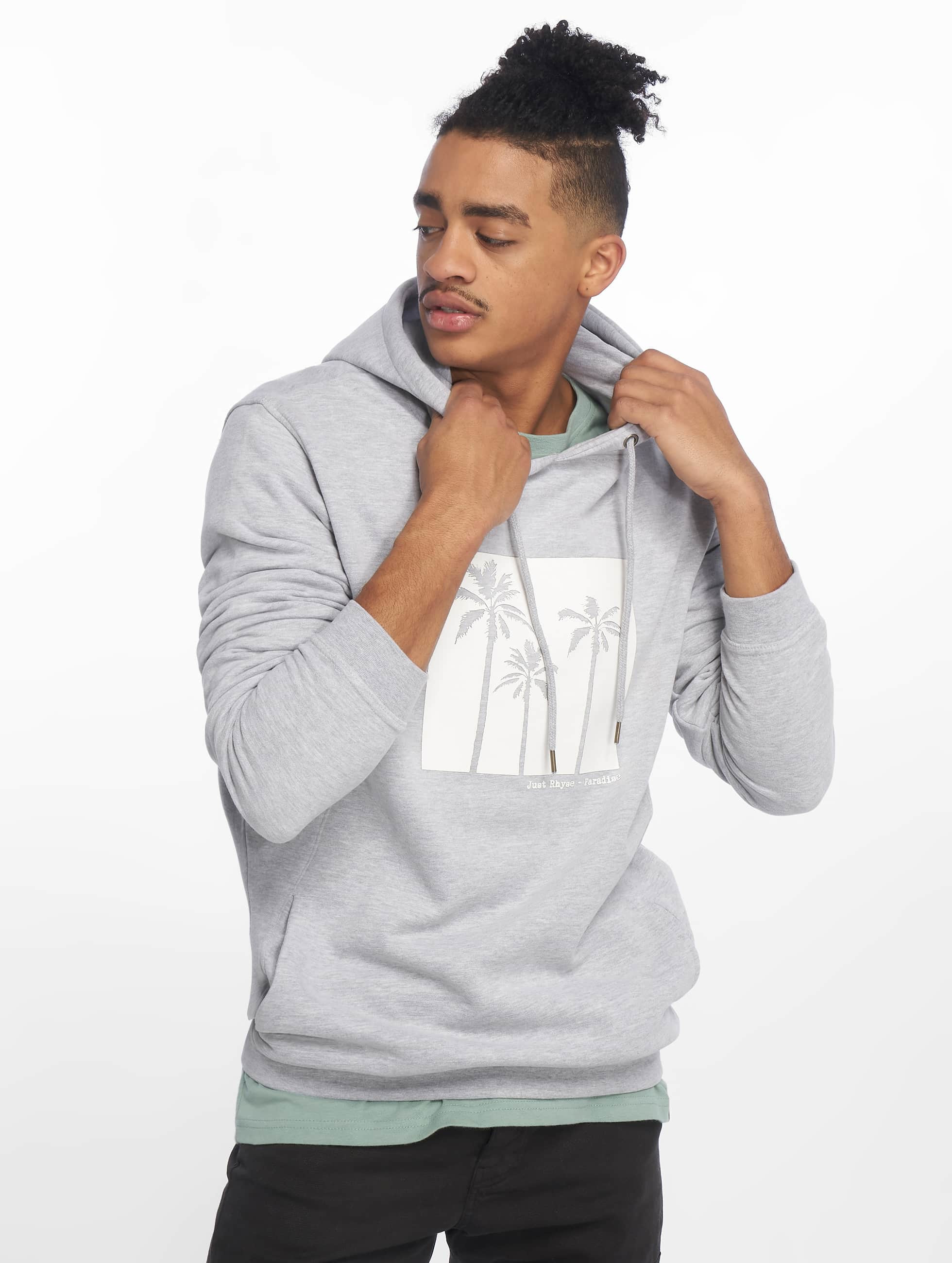 Just Rhyse / Hoodie Orlando in grey XL