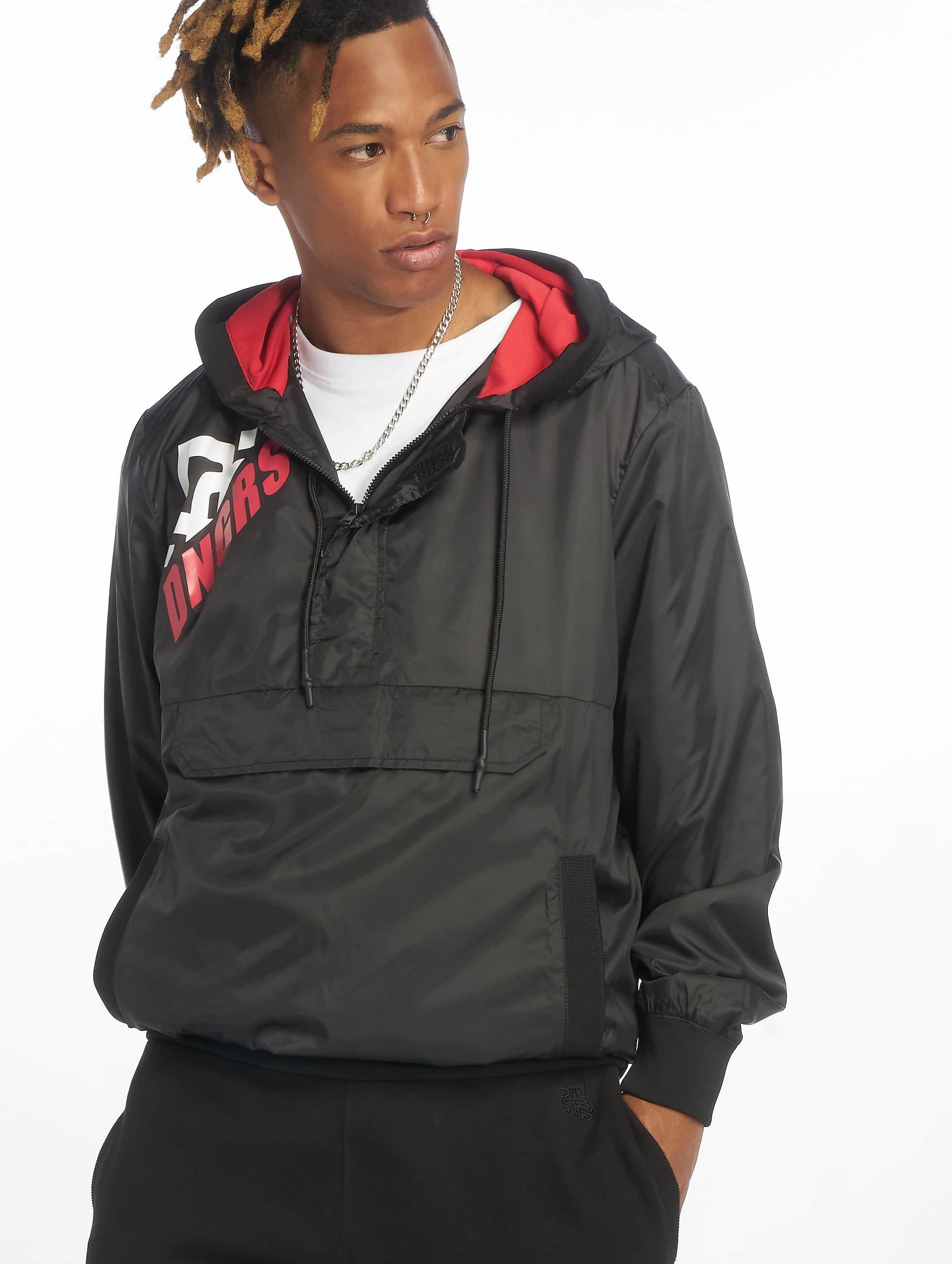 Dangerous DNGRS / Lightweight Jacket Brick in black XL