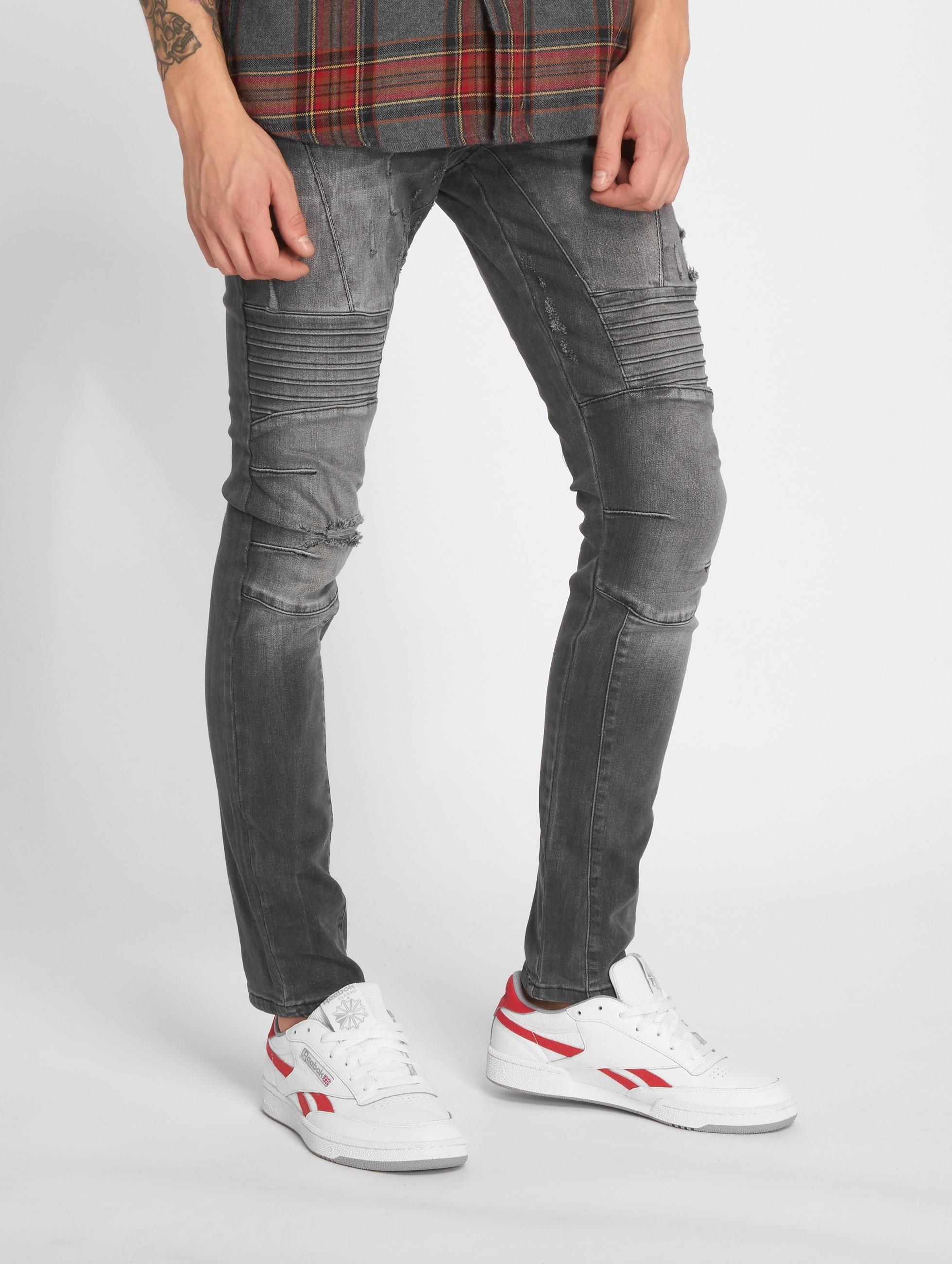 2Y / Slim Fit Jeans Polles in grey W 29