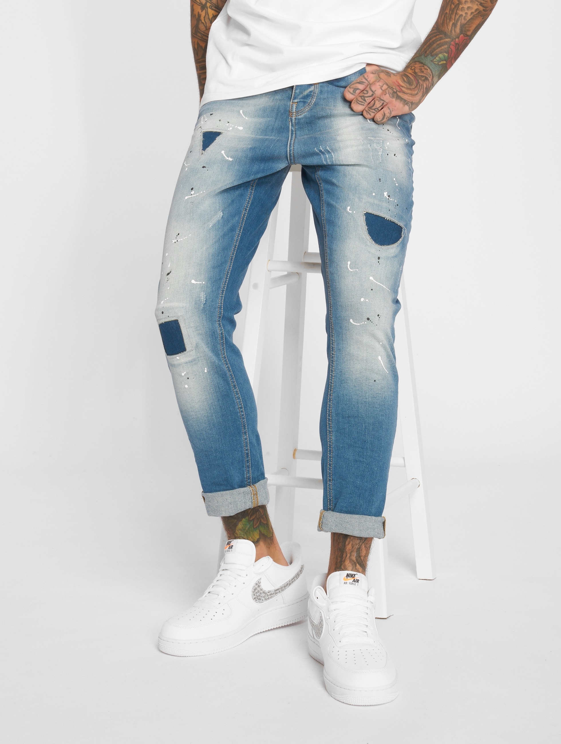 2Y / Slim Fit Jeans Carlo in blue W 36