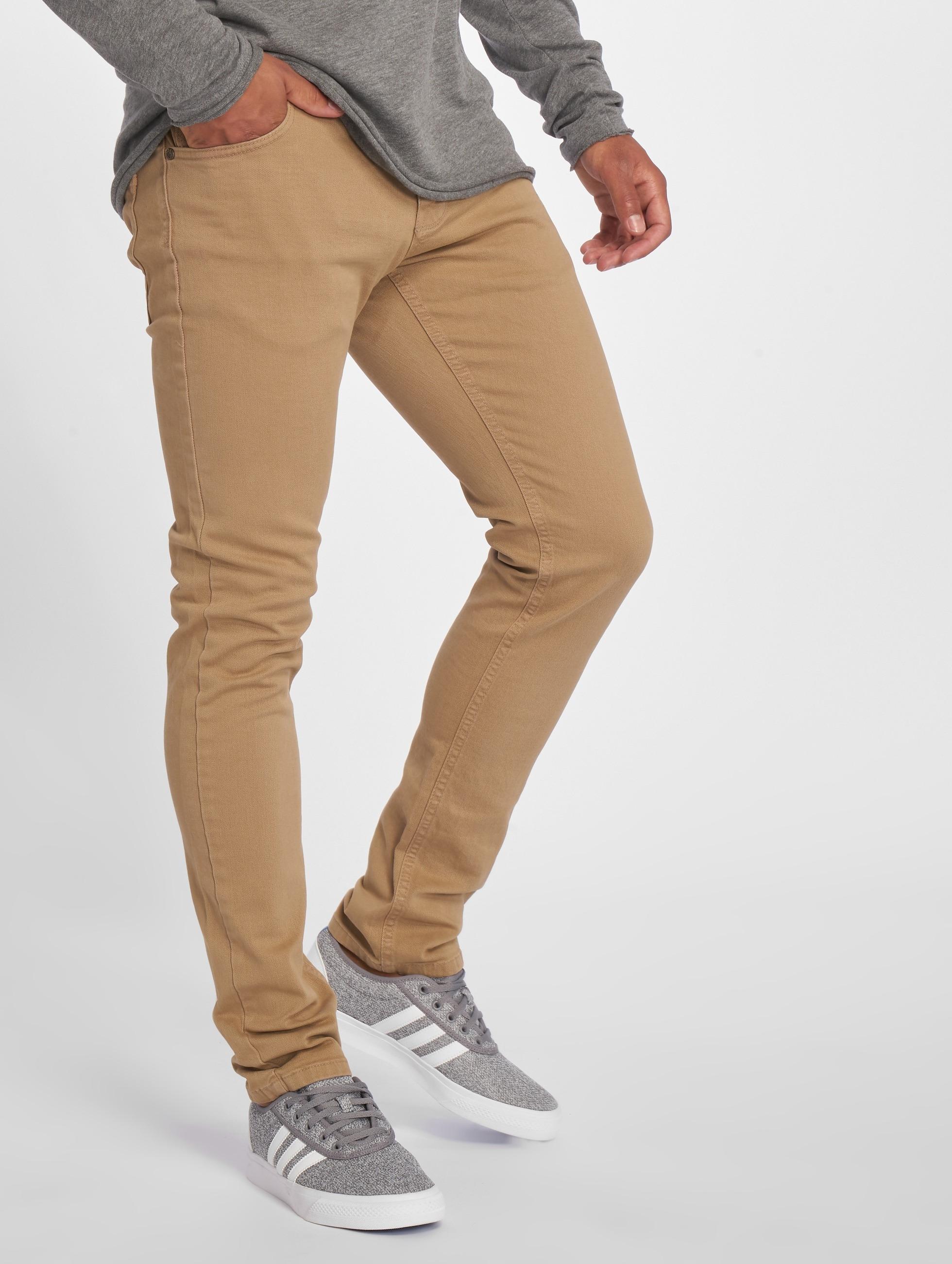 2Y / Slim Fit Jeans ClassicoDark in beige W 32