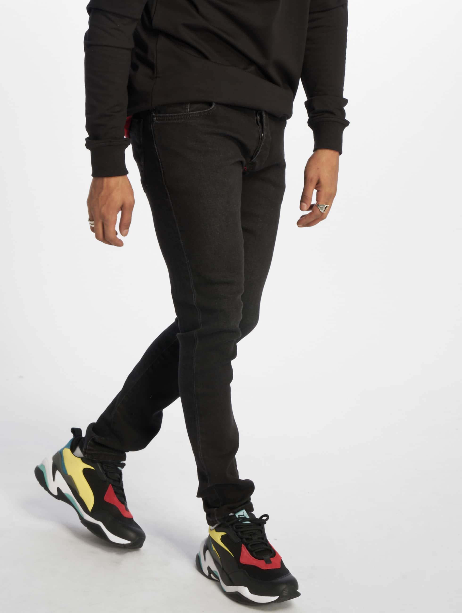2Y / Slim Fit Jeans Taron in black W 31