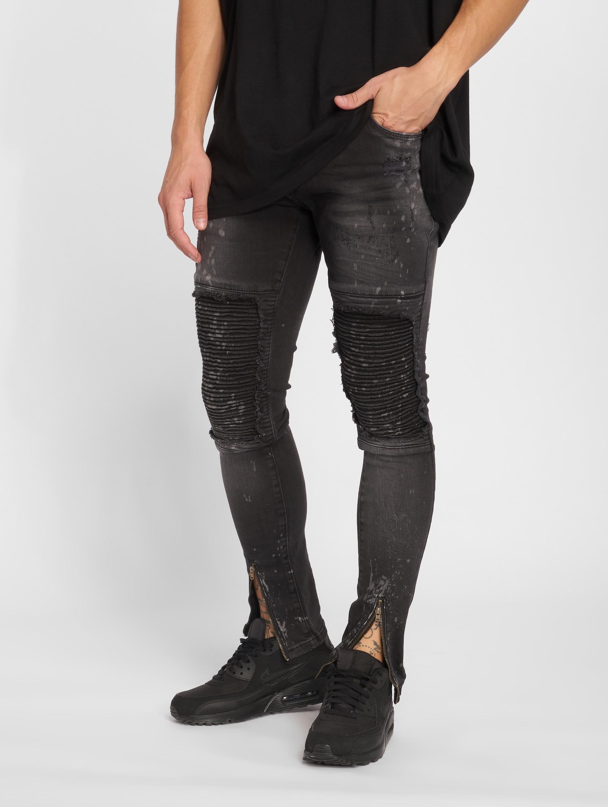 2Y / Slim Fit Jeans Ron in grey W 30