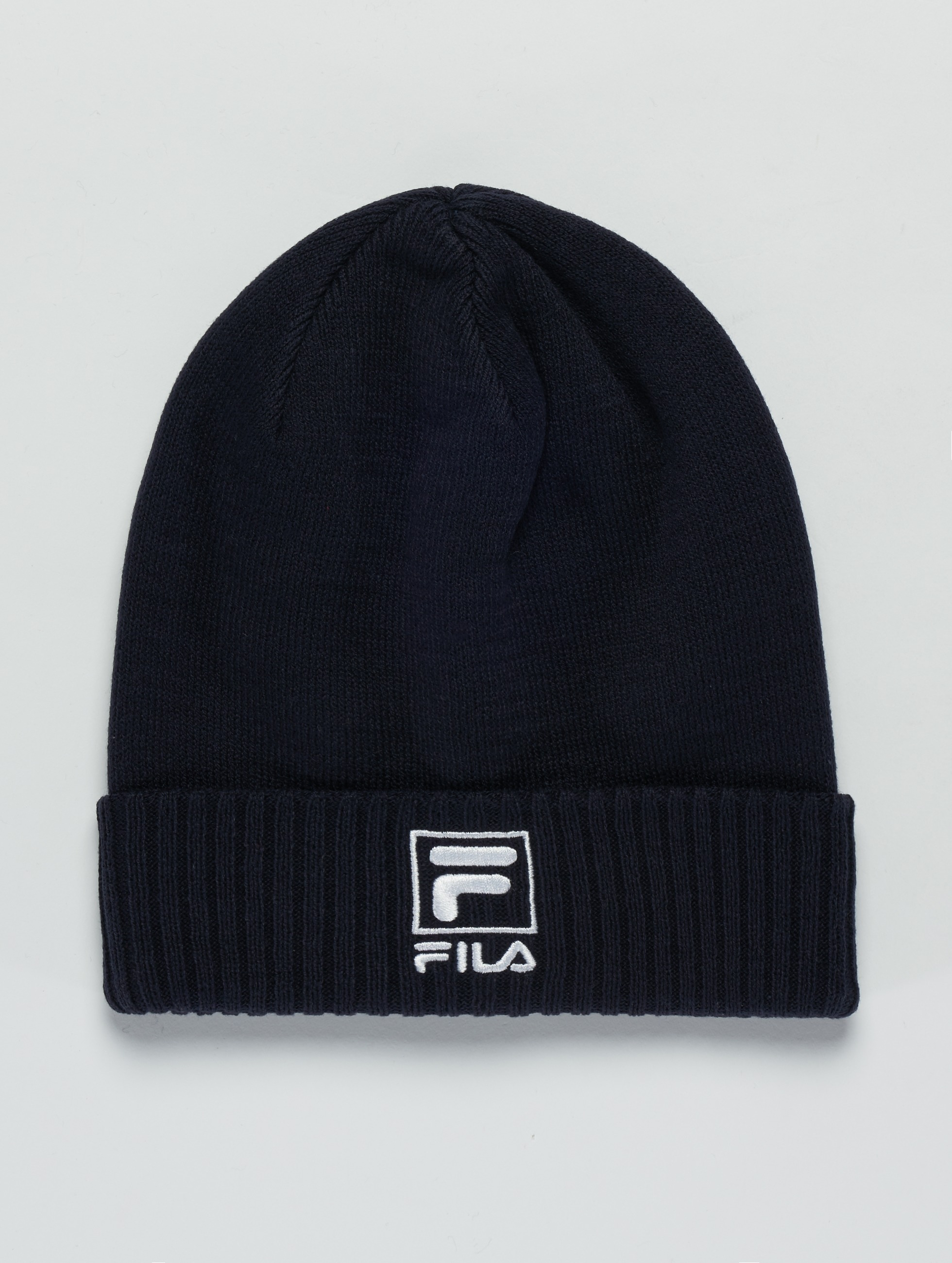 FILA | Slouchy F-Box  bleu Femme Bonnet