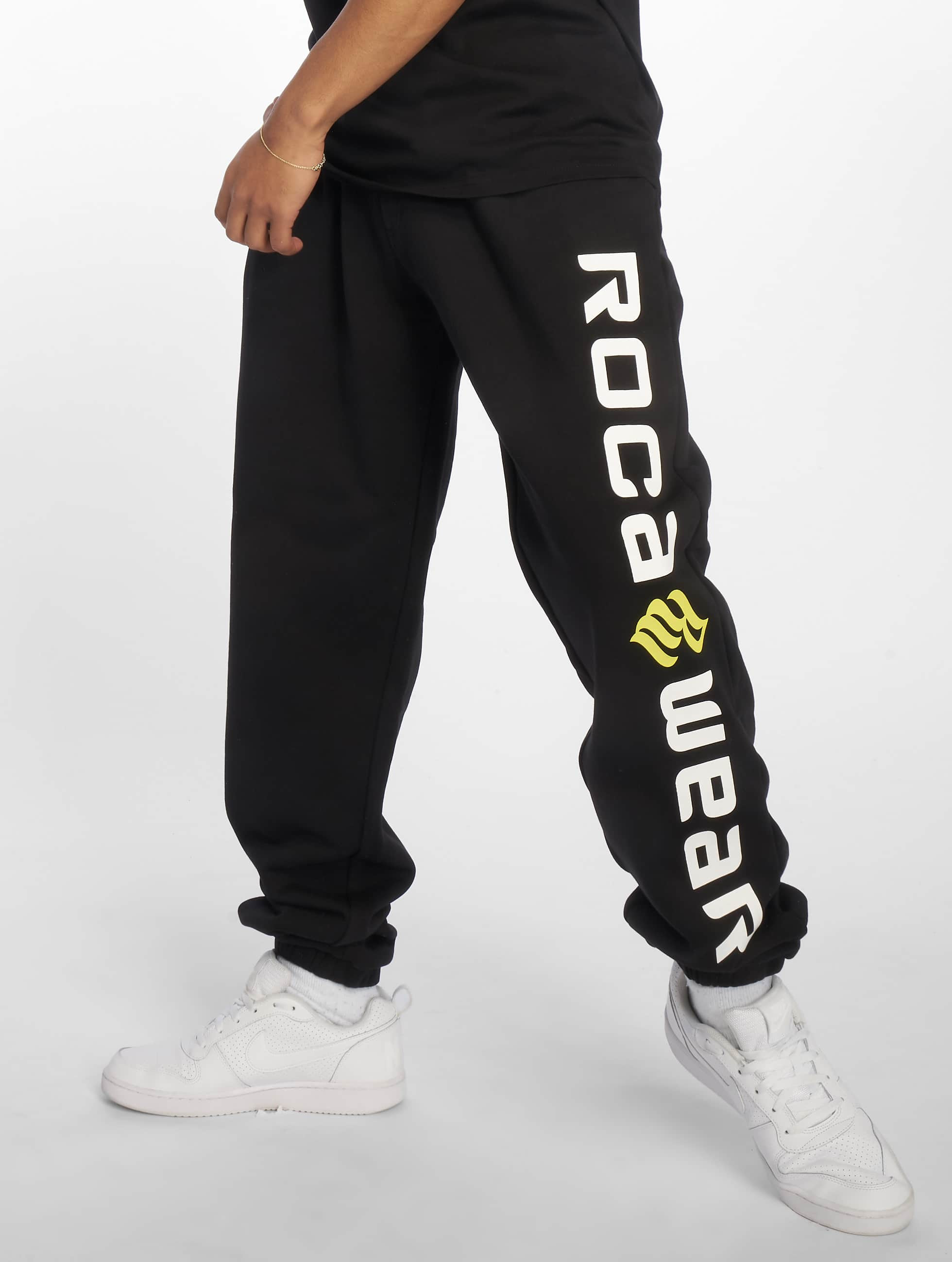 Rocawear / Sweat Pant Basic Fleece in black M