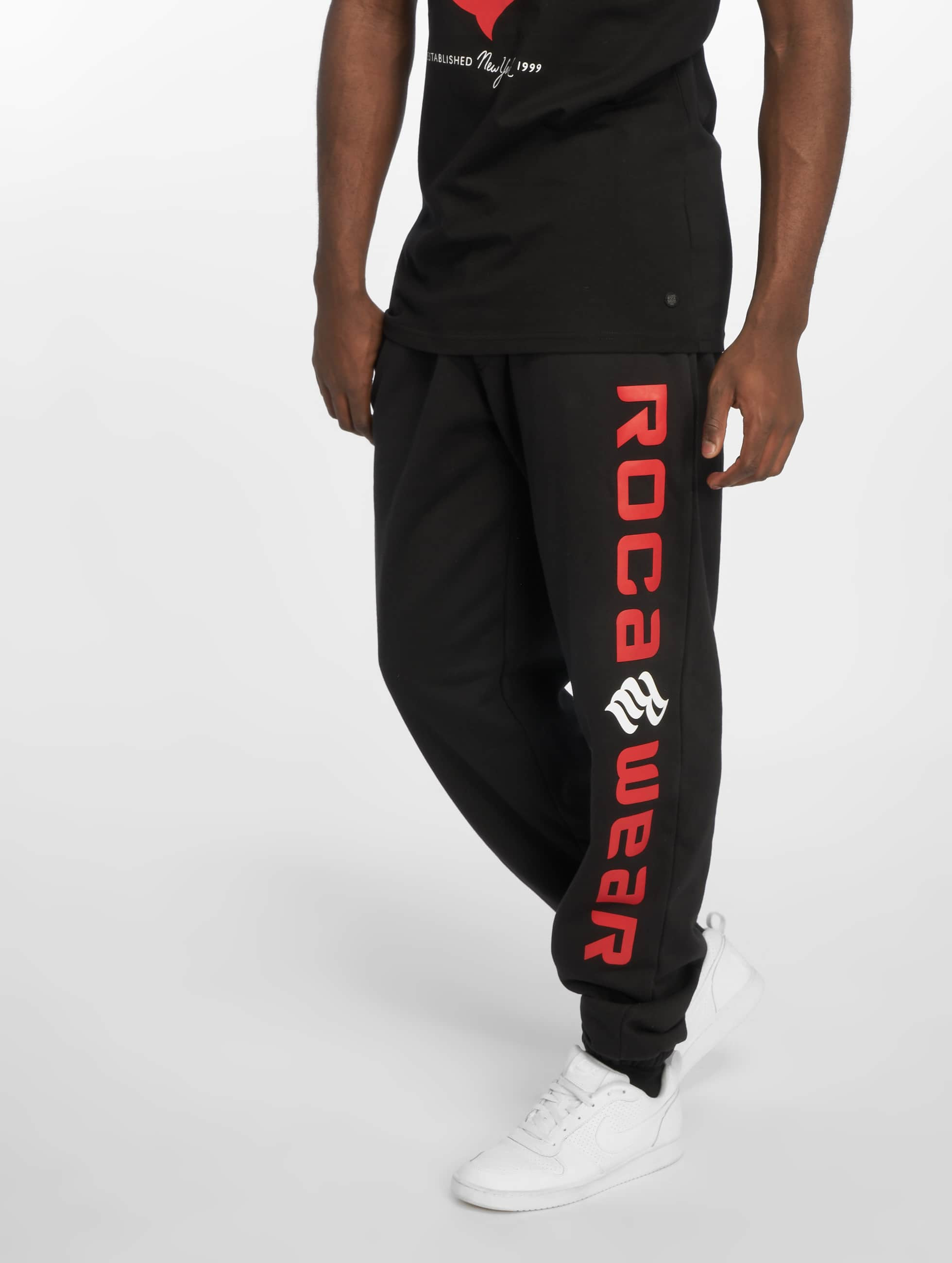 Rocawear / Sweat Pant Basic Fleece in black 2XL