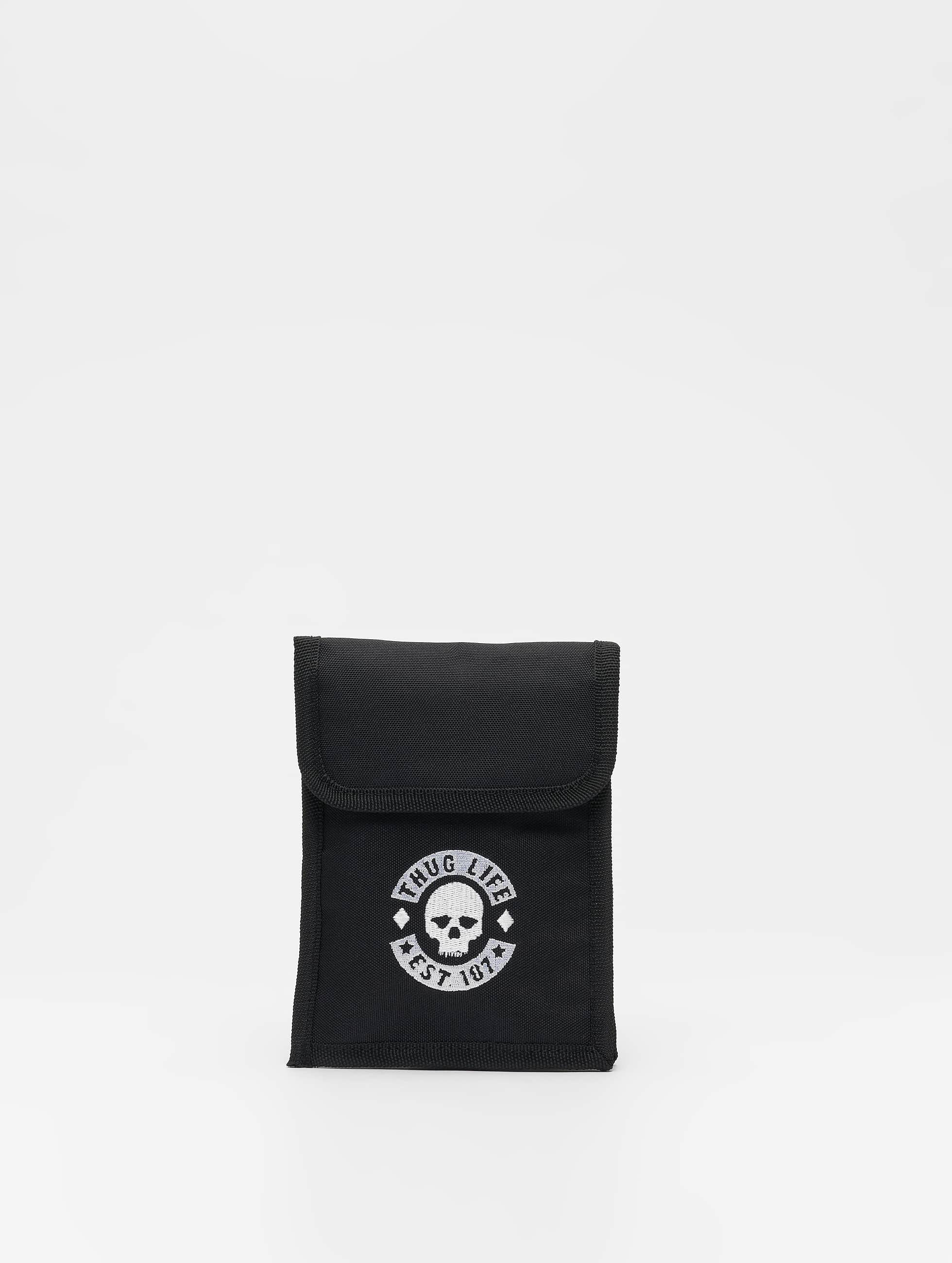 Thug Life / Bag Skull in black One Size