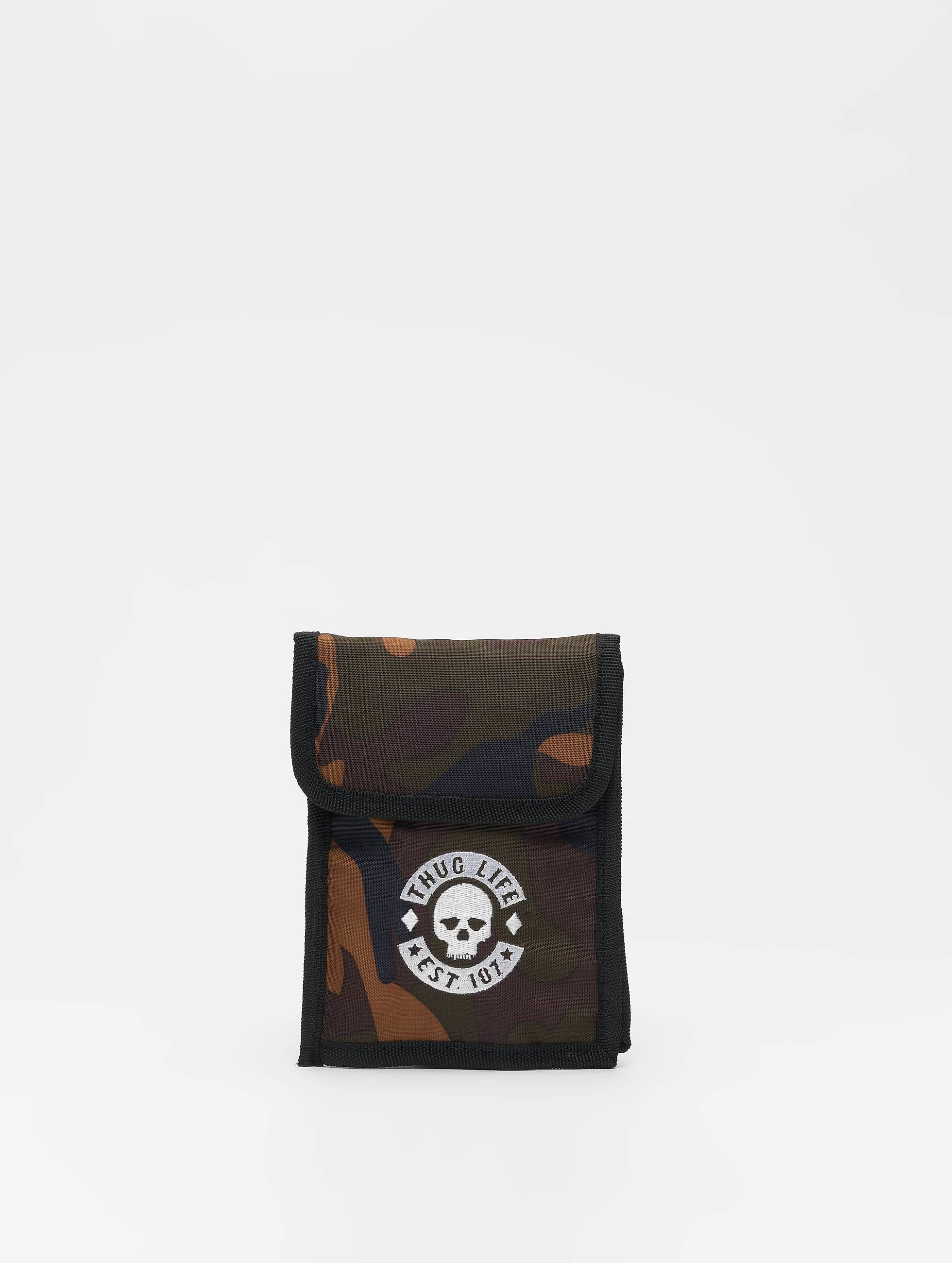 Thug Life / Bag Skull in camouflage One Size