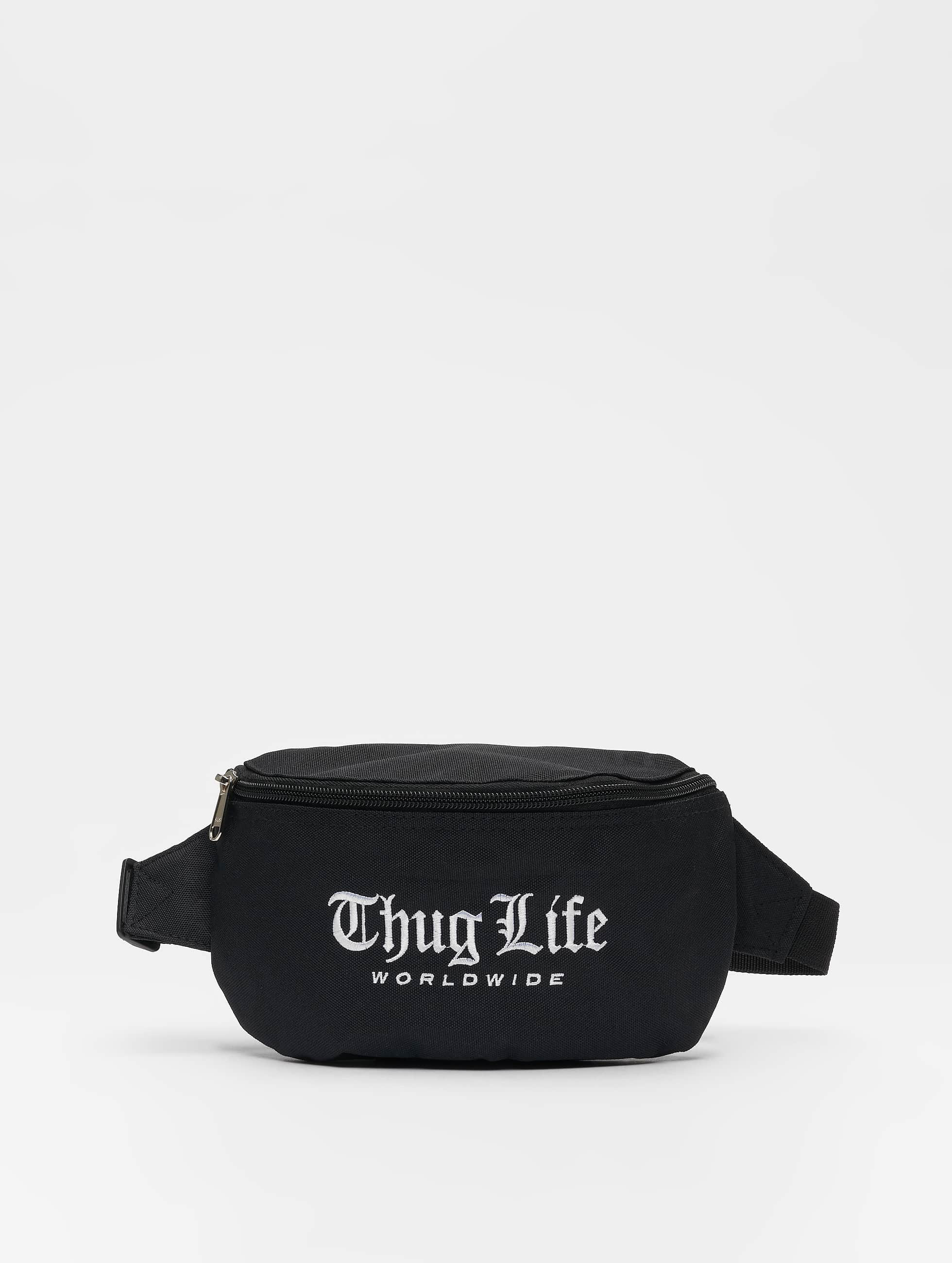 Thug Life / Bag Fanny in black One Size