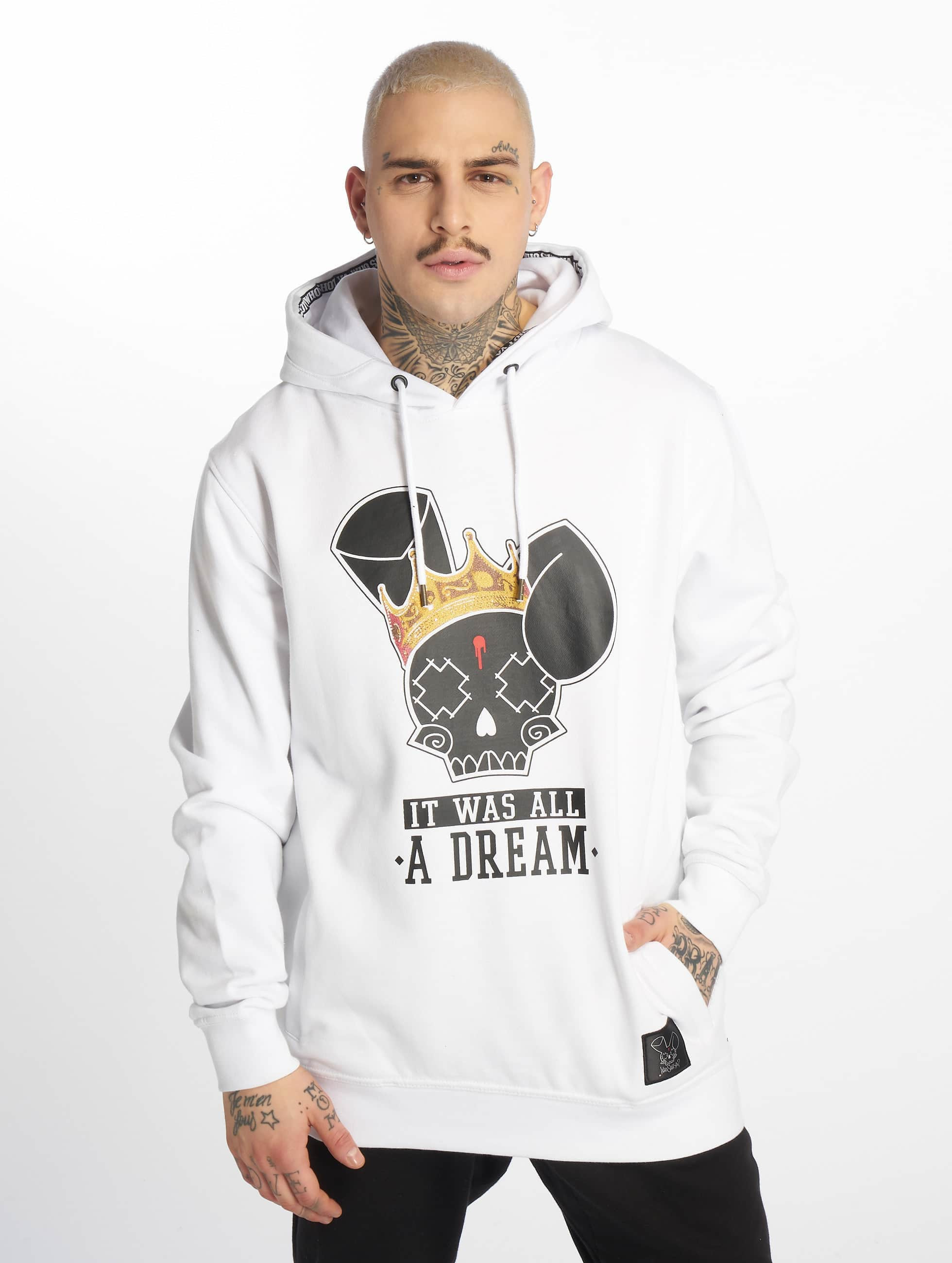 Who Shot Ya? / Hoodie It was all a dream in white XL