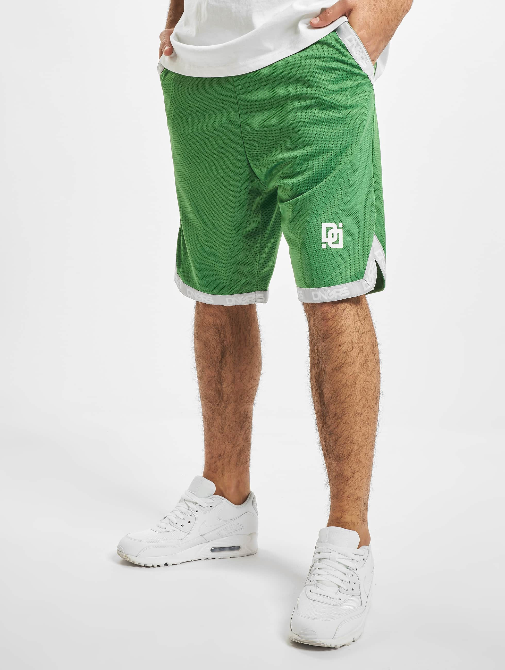 Dangerous DNGRS / Short Dunkin in green XL