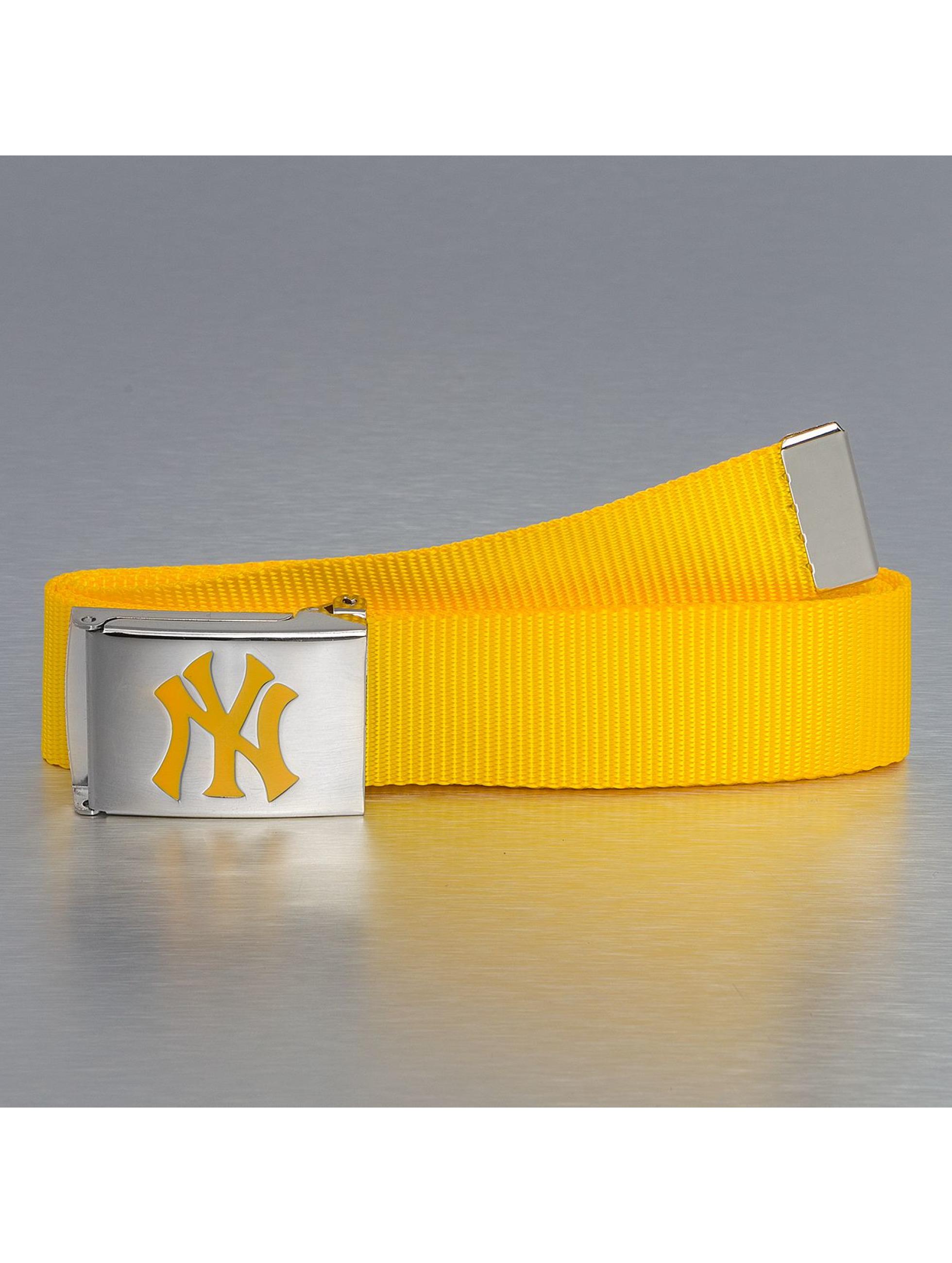 MLB Männer,Frauen Gürtel MLB NY Yankees Premium Woven Single in gelb
