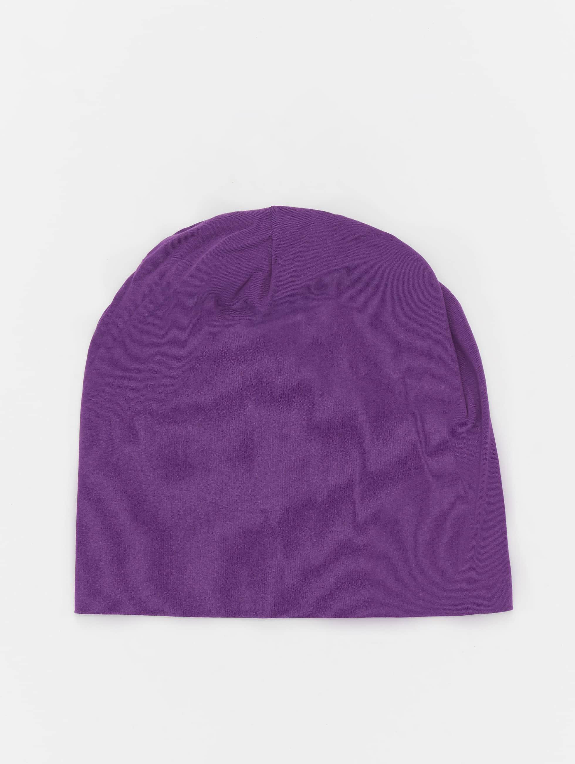 MSTRDS Männer,Frauen Beanie Jersey in violet
