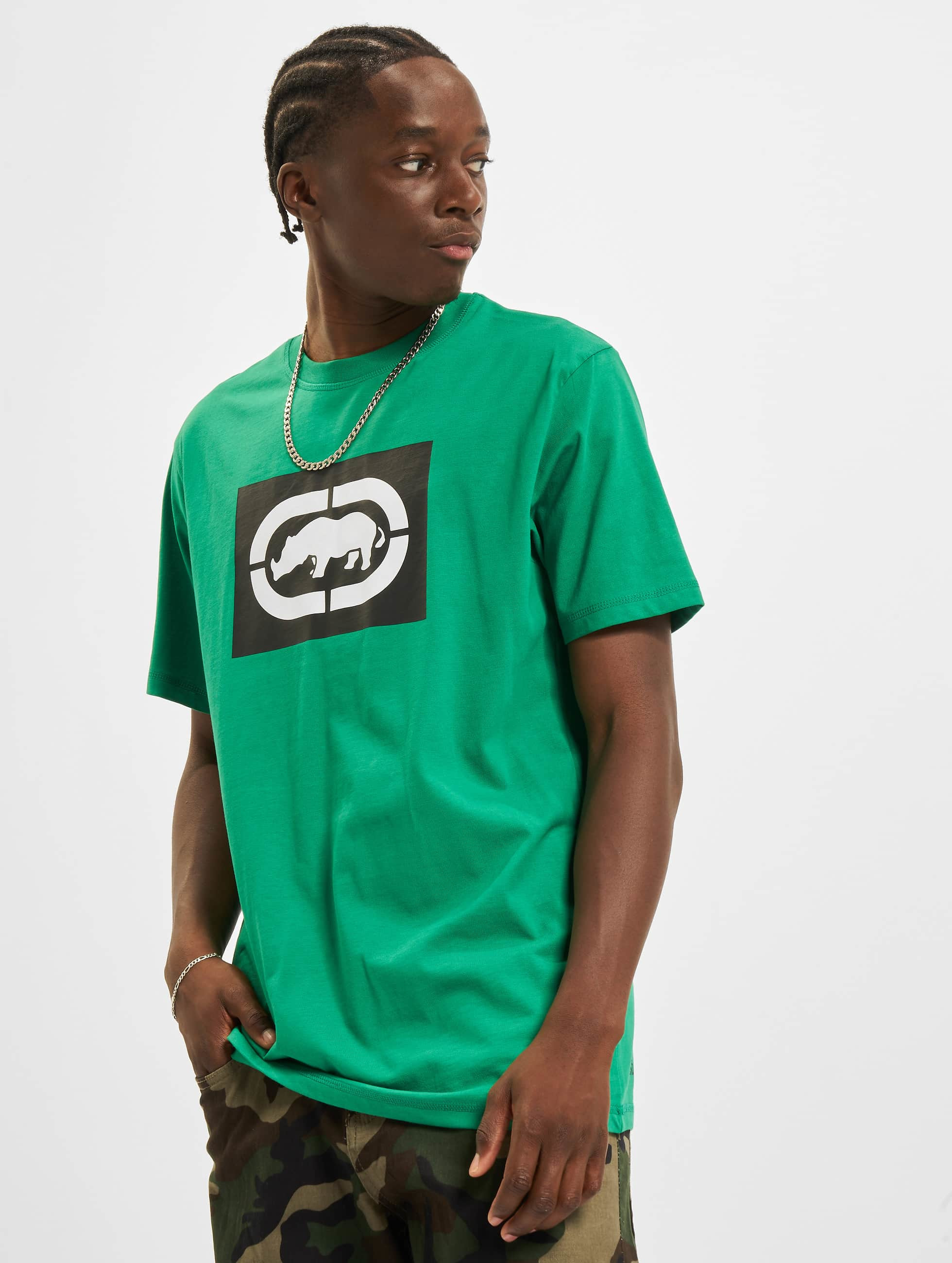 Ecko Unltd. / T-Shirt Base in green XL