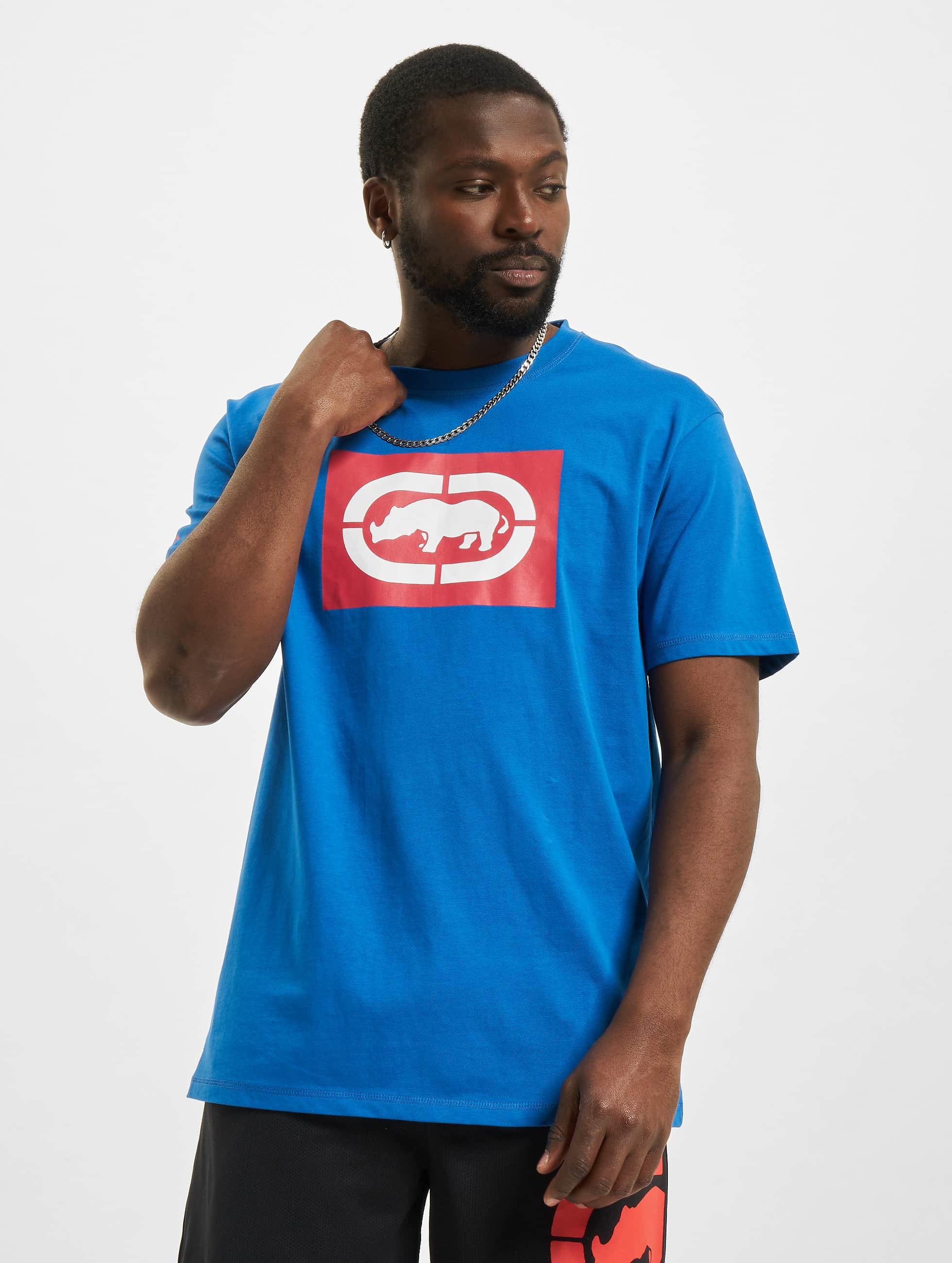 Ecko Unltd. / T-Shirt Base in blue 2XL