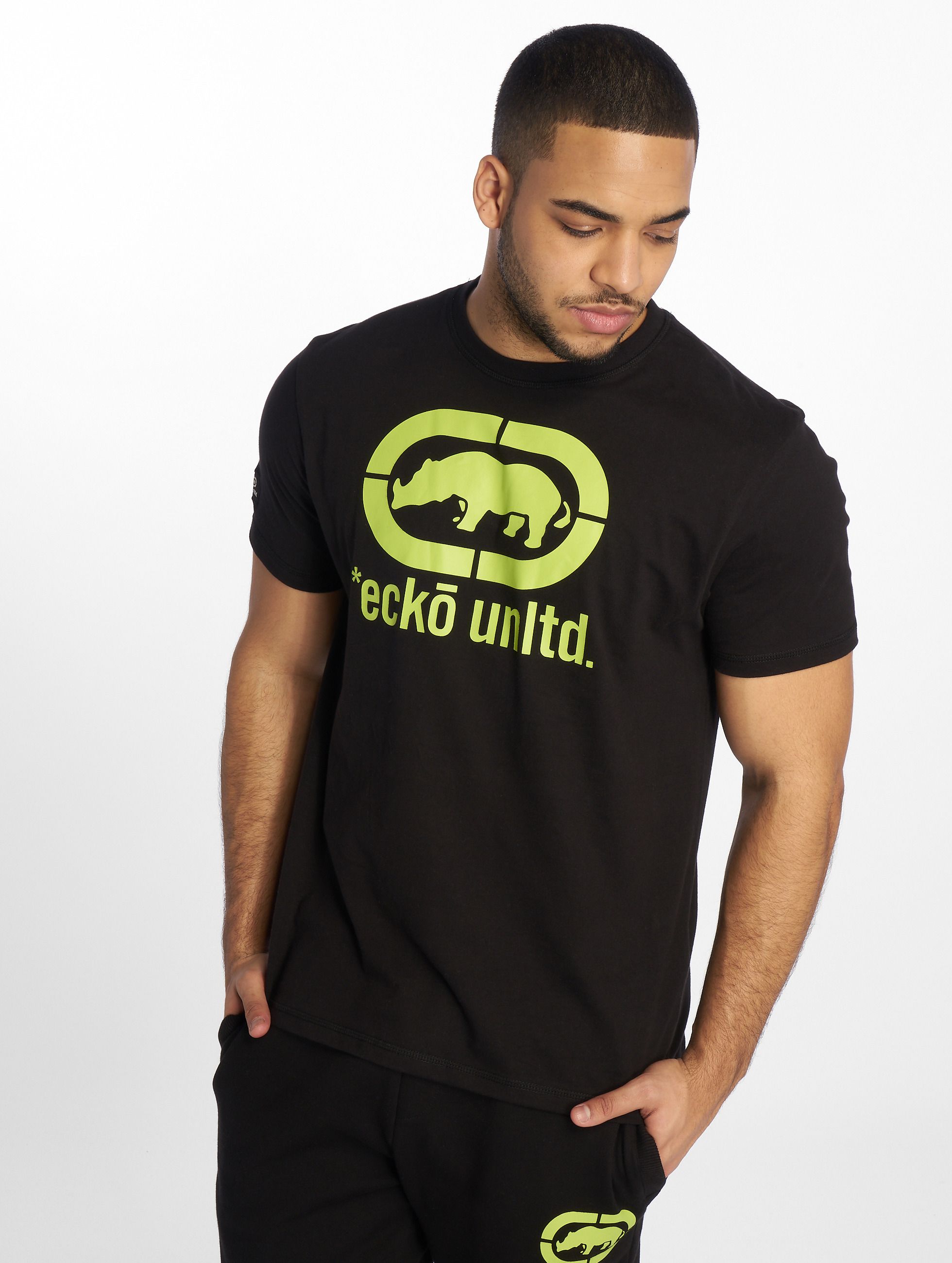 Ecko Unltd. / T-Shirt John Rhino in black 2XL
