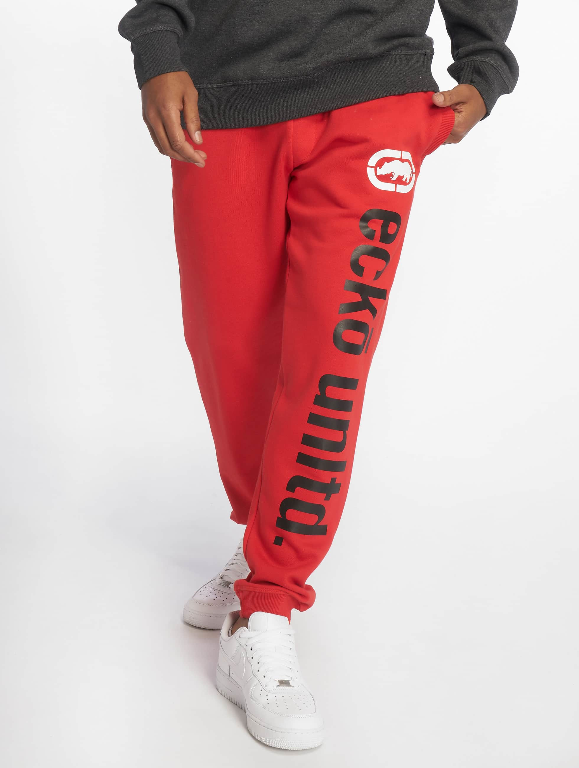 Ecko Unltd. / Sweat Pant 2Face in red 2XL