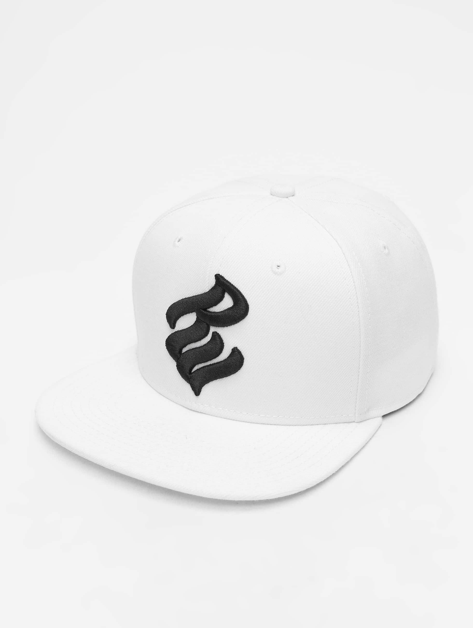 Rocawear / Snapback Cap Nam in white One Size