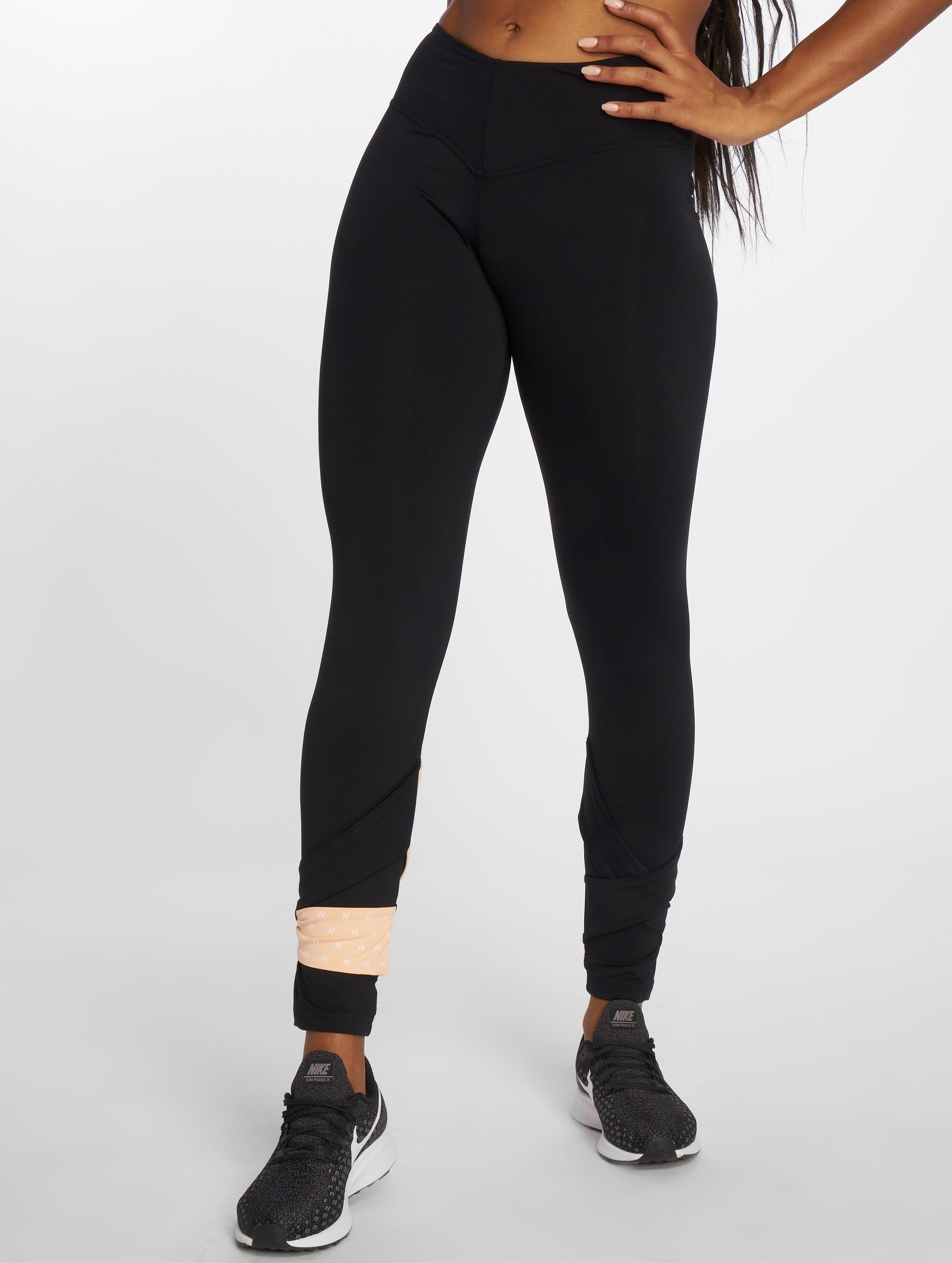 Nebbia | Asymmetrical 7/8 noir Femme Leggings de sport