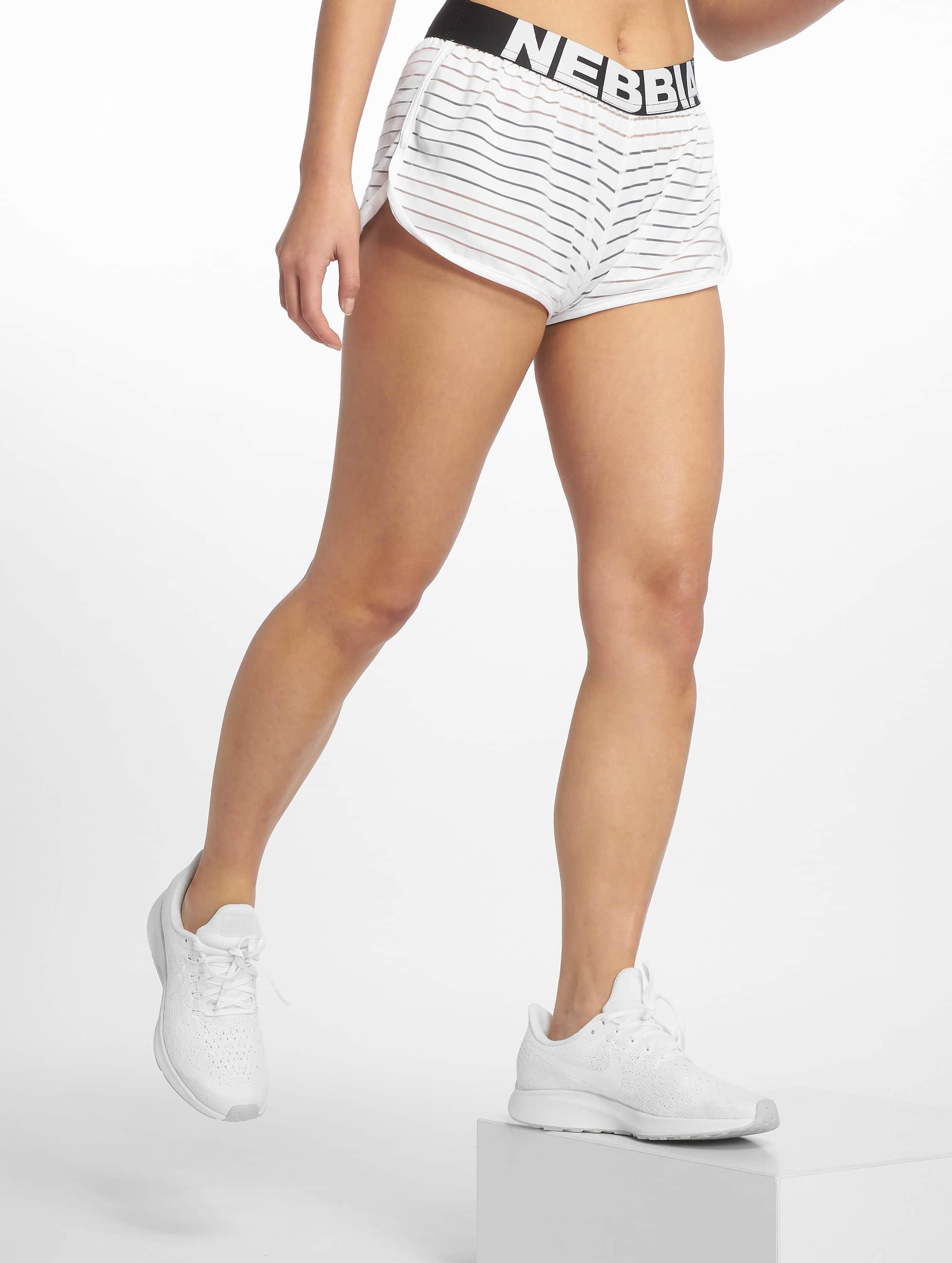 Nebbia | Transparent blanc Femme Short de sport