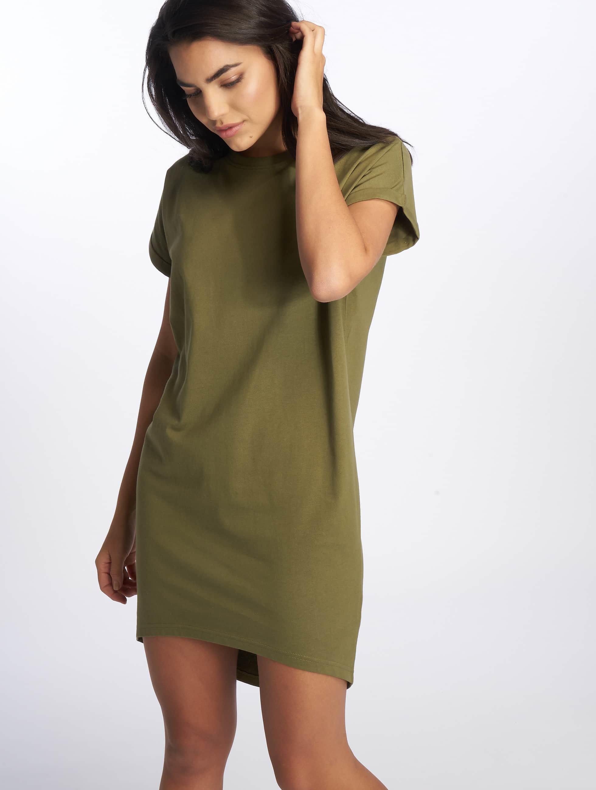 DEF / Dress Agung in olive L