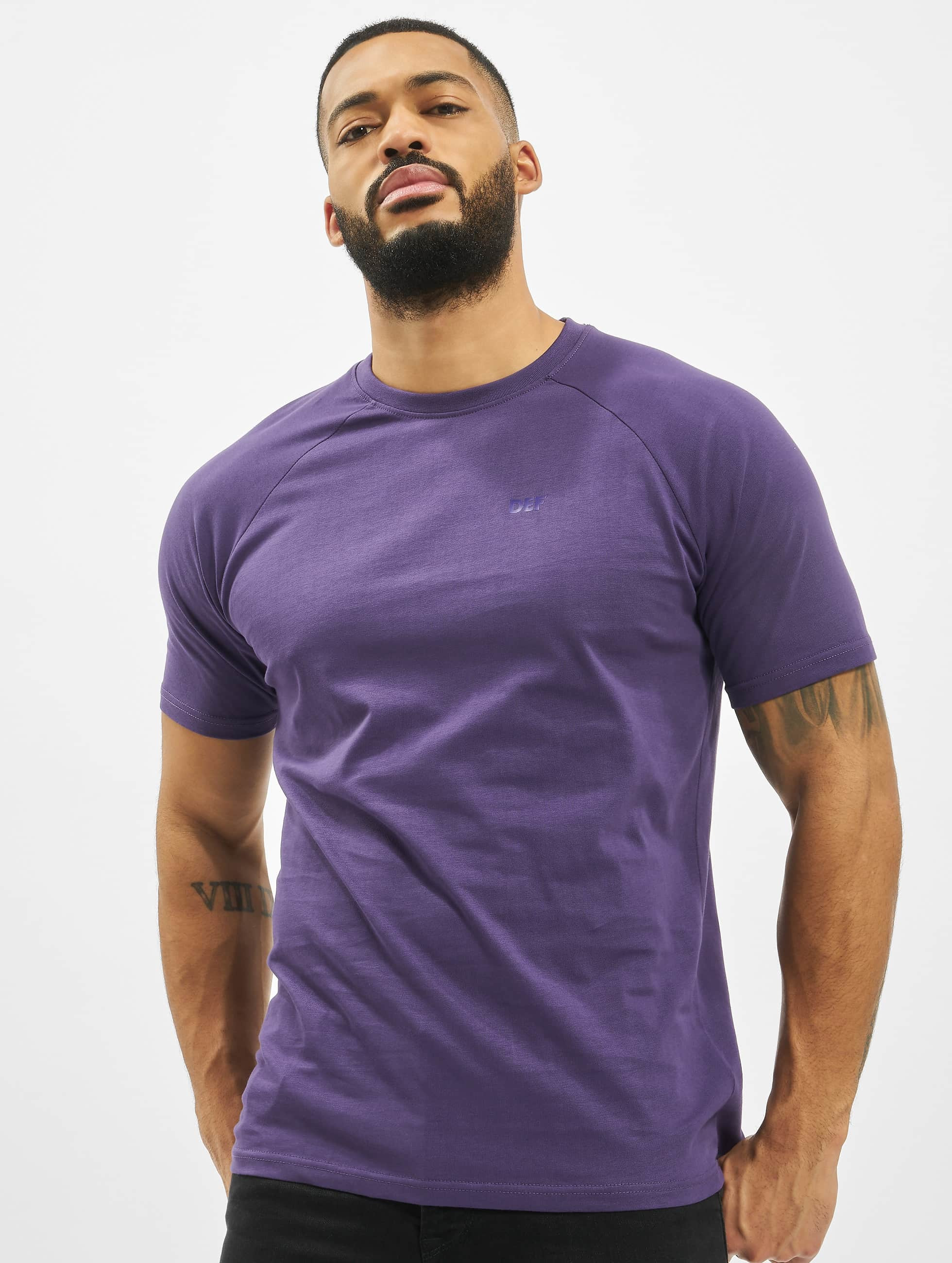 DEF / T-Shirt Kai in purple XL