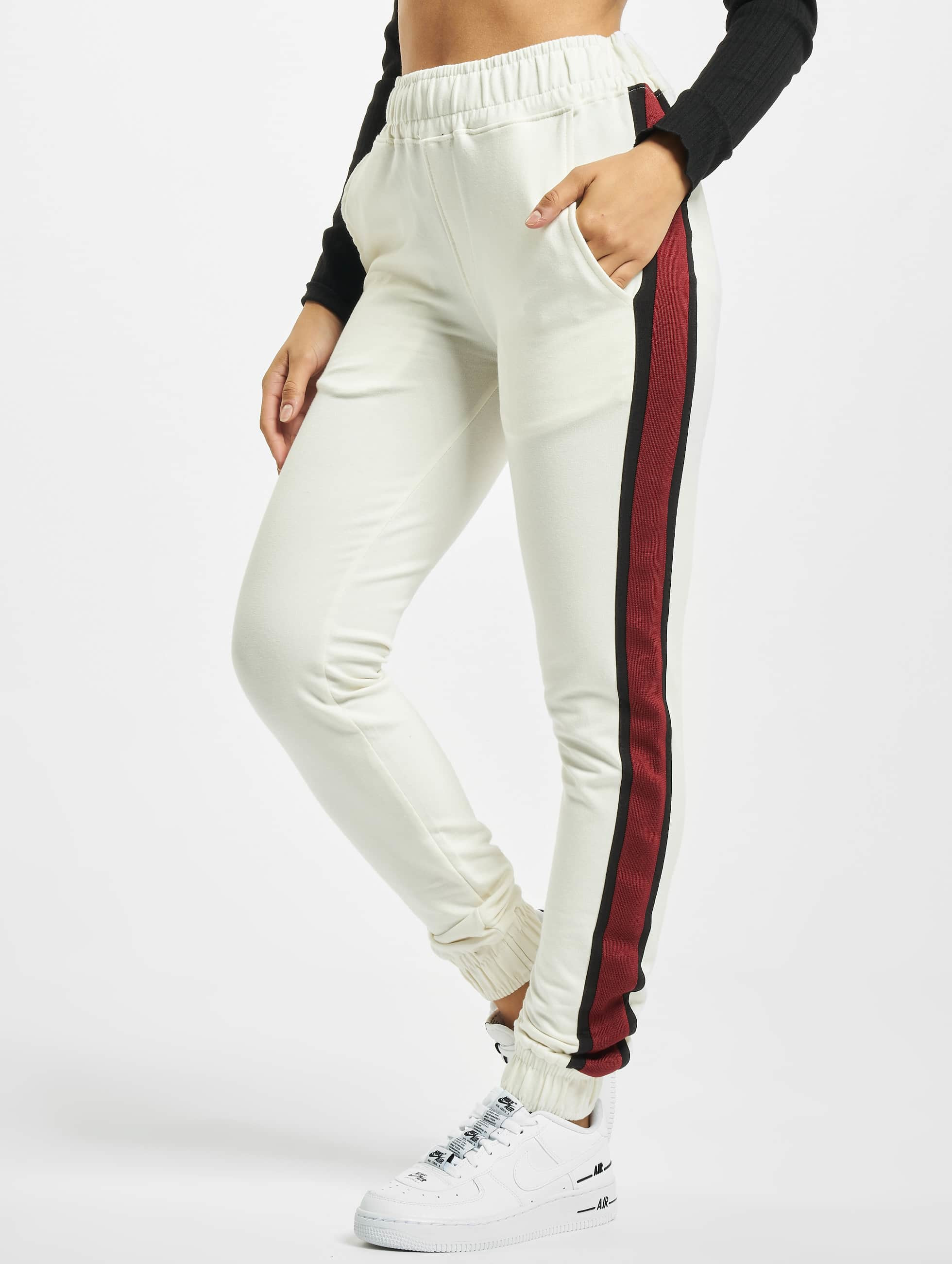 DEF / Sweat Pant Macy in white XS