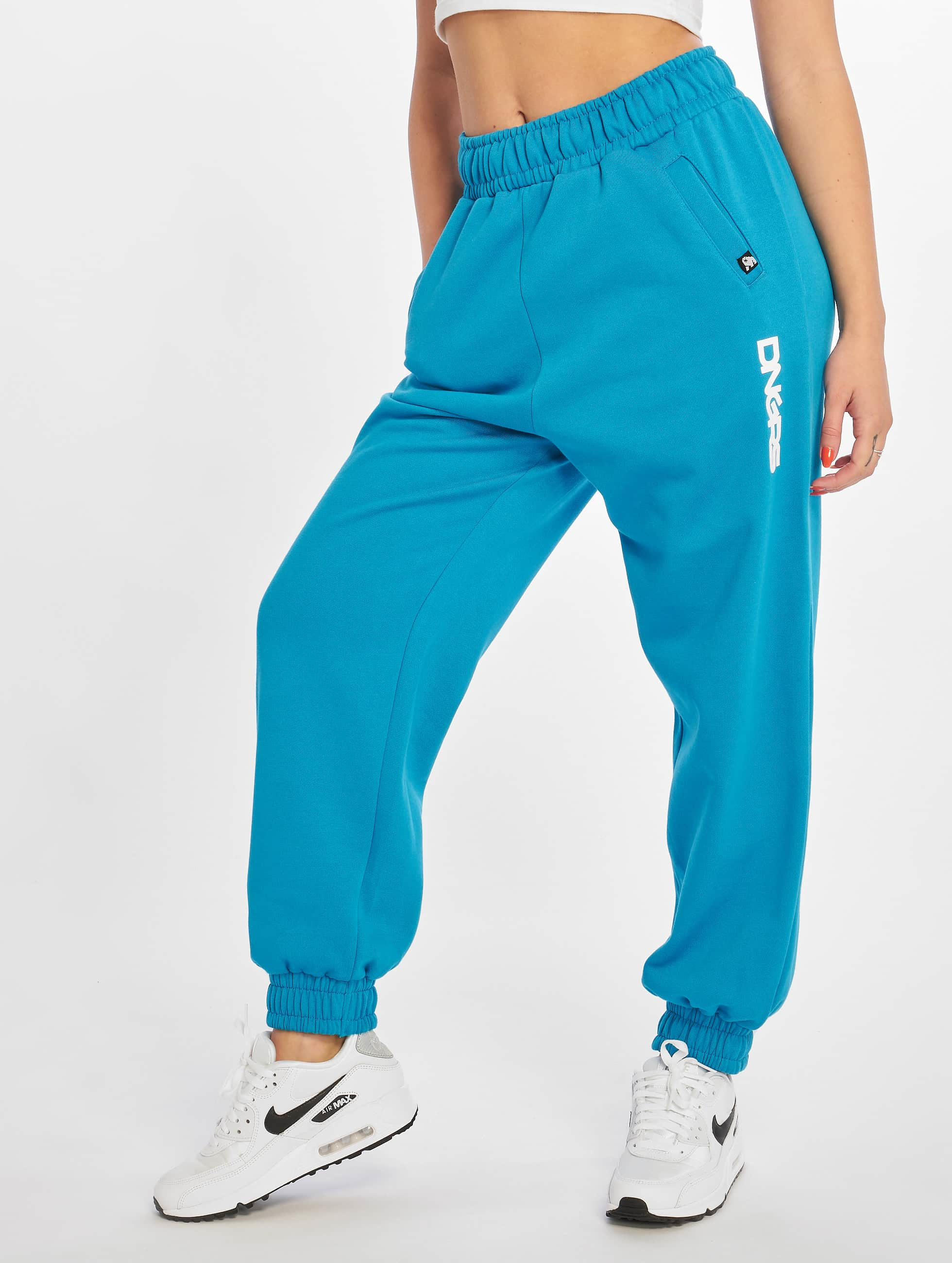 Dangerous DNGRS / Sweat Pant Leila in blue XS