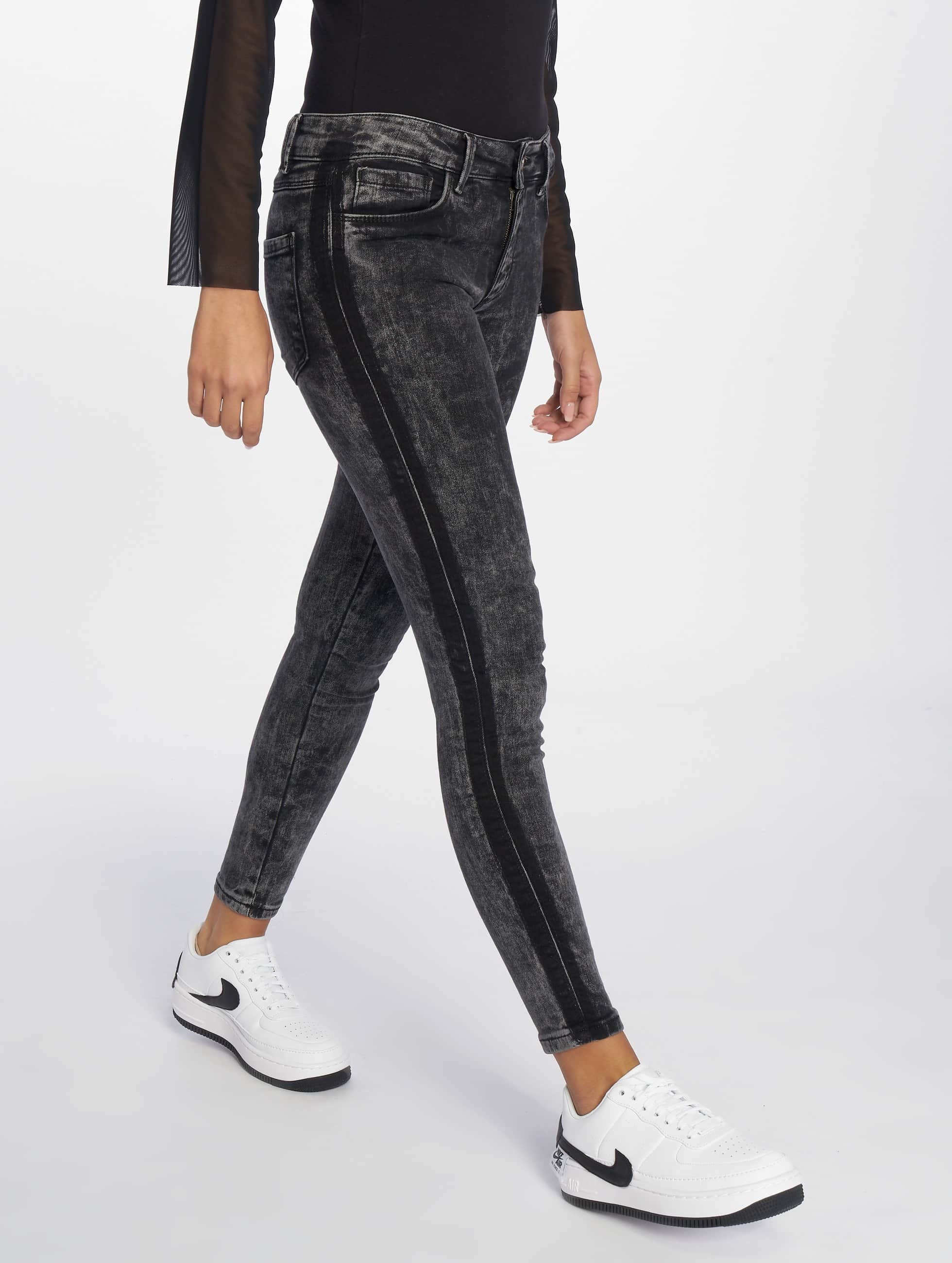 DEF / Straight Fit Jeans Reckless in grey L  (L 32)