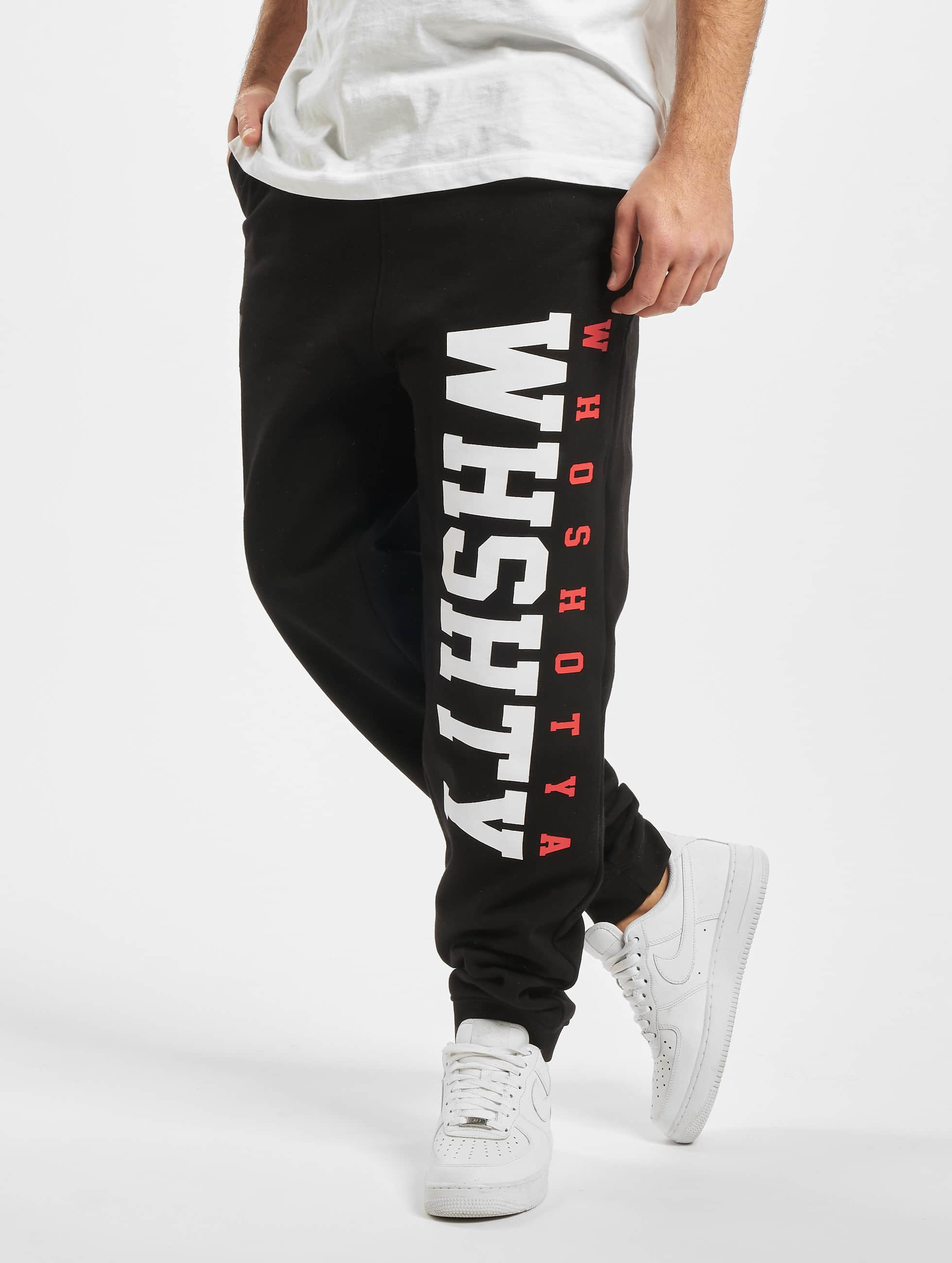 Who Shot Ya? / Sweat Pant WHSHTY in black XL