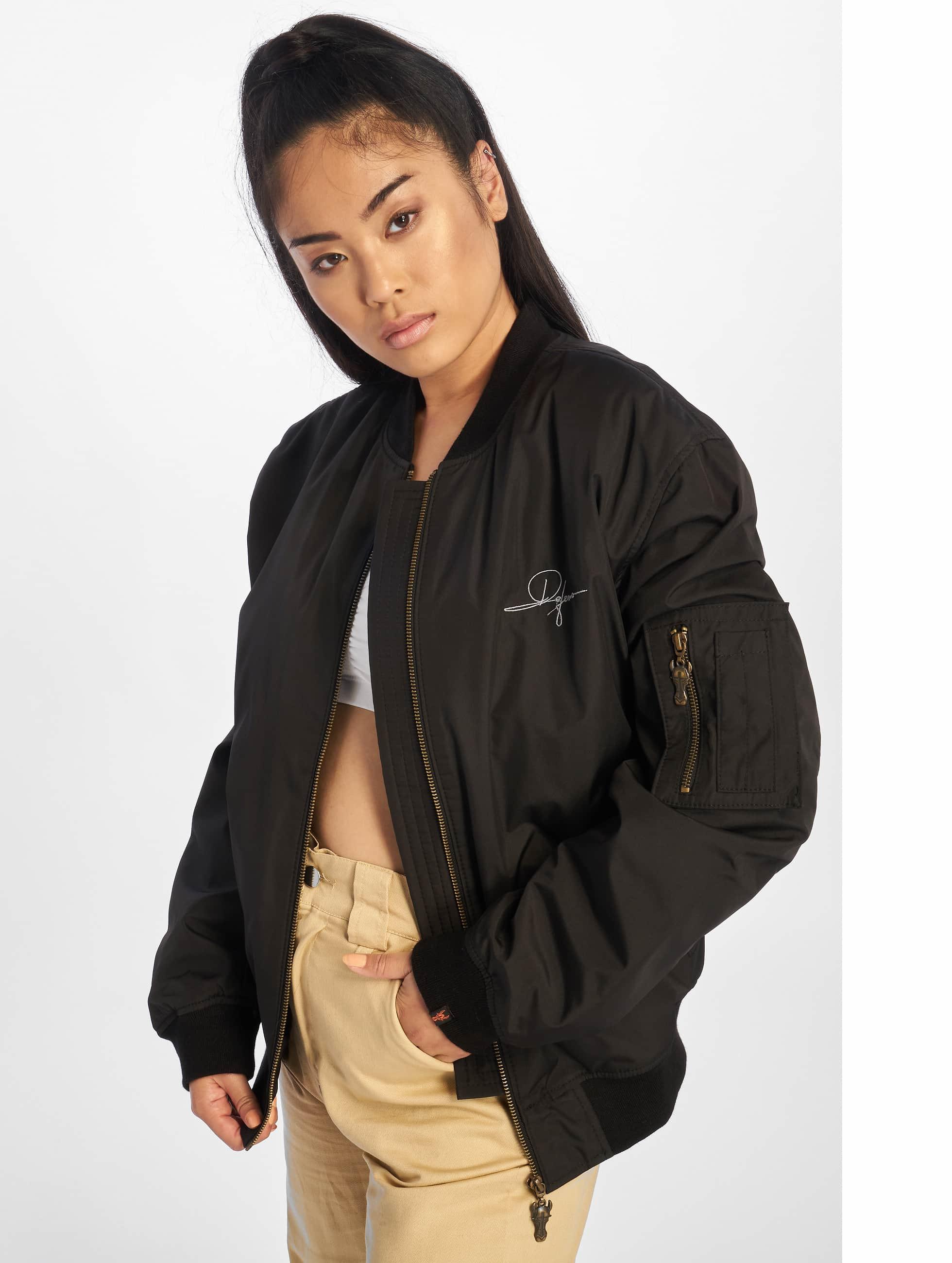 De Ferro / Bomber jacket Dread Bomb Short in black S