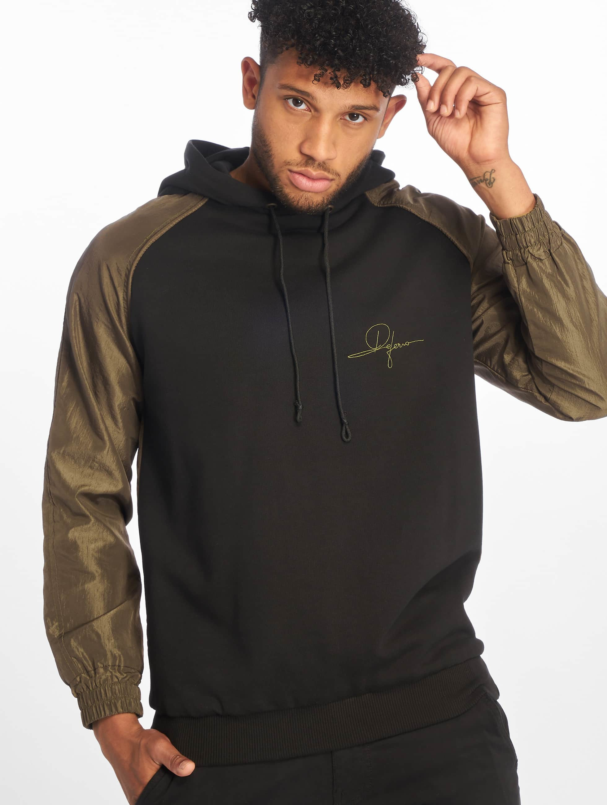 De Ferro / Hoodie Double Trouble in black L